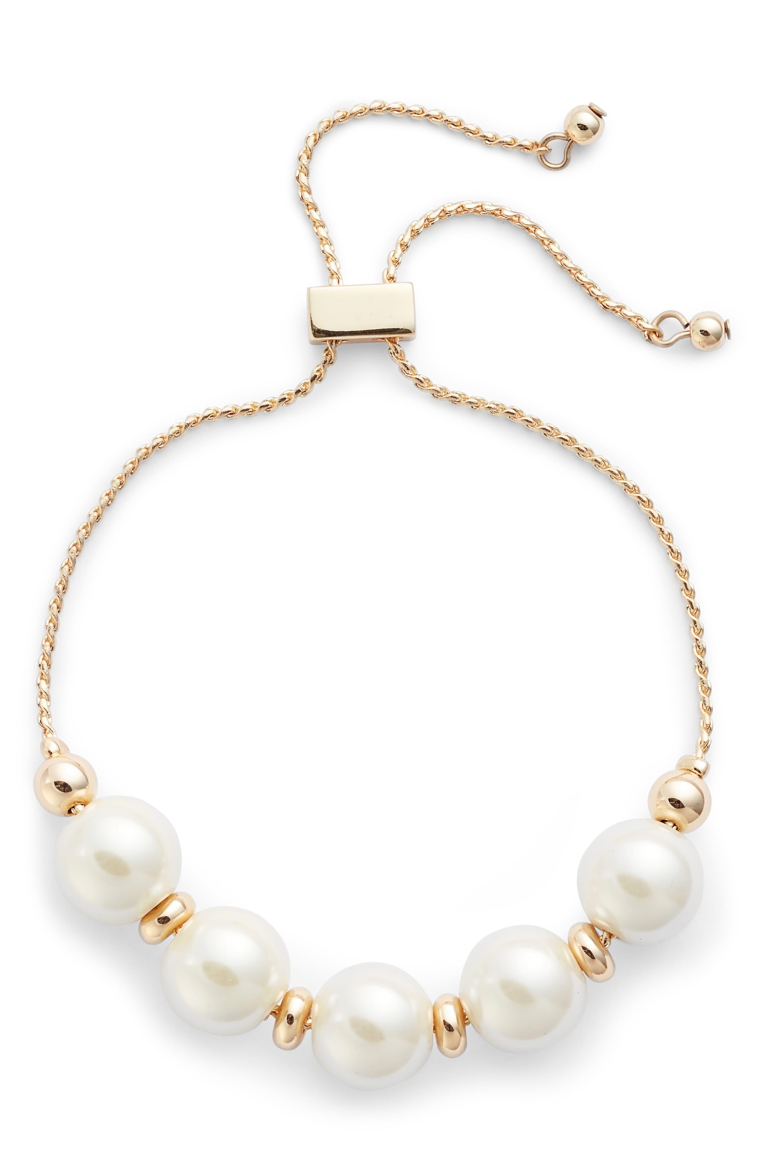 Halogen® Imitation Pearl Bracelet