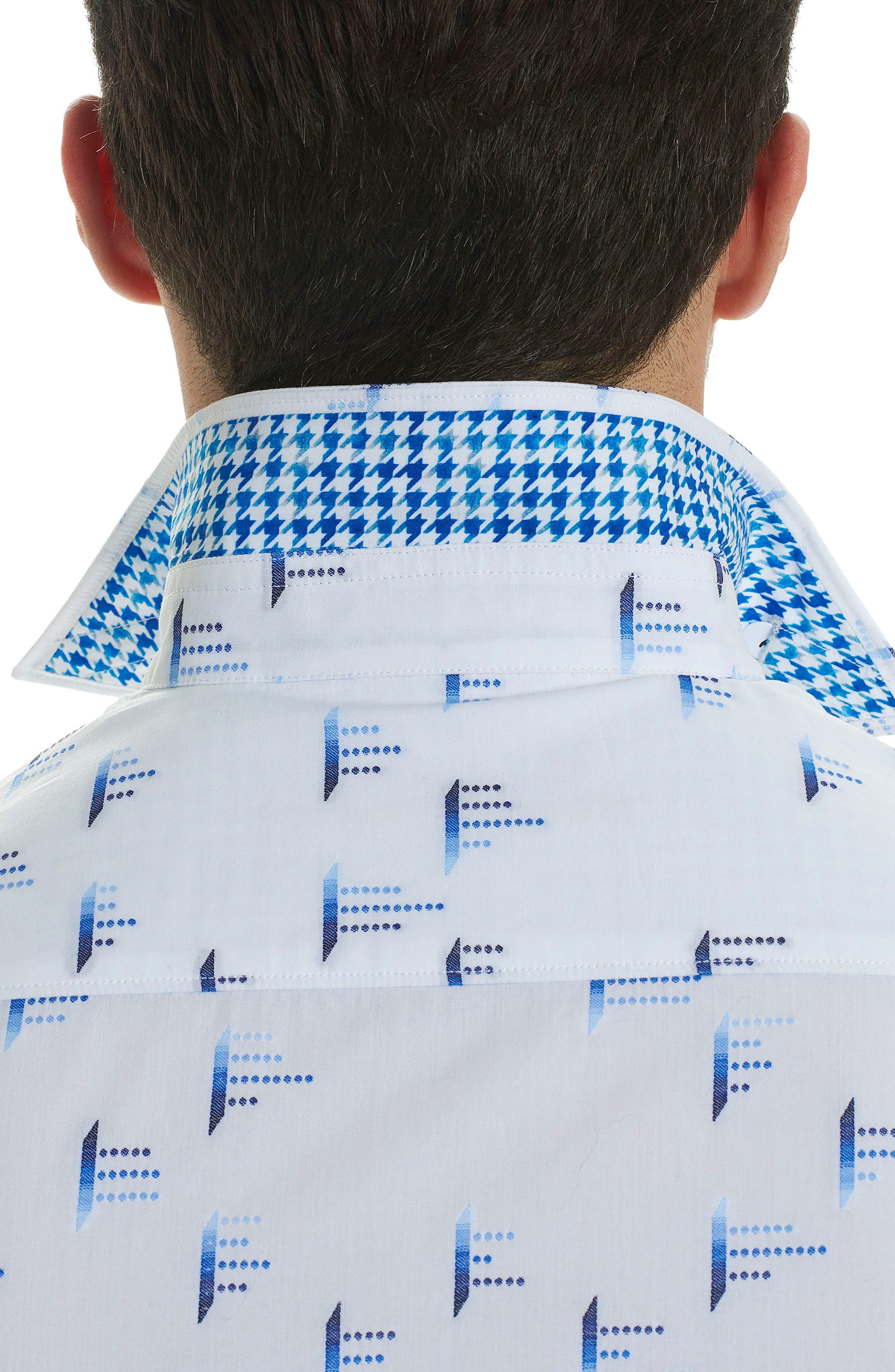 Alternate Image 3  - Robert Graham Reid Classic Fit Print Sport Shirt
