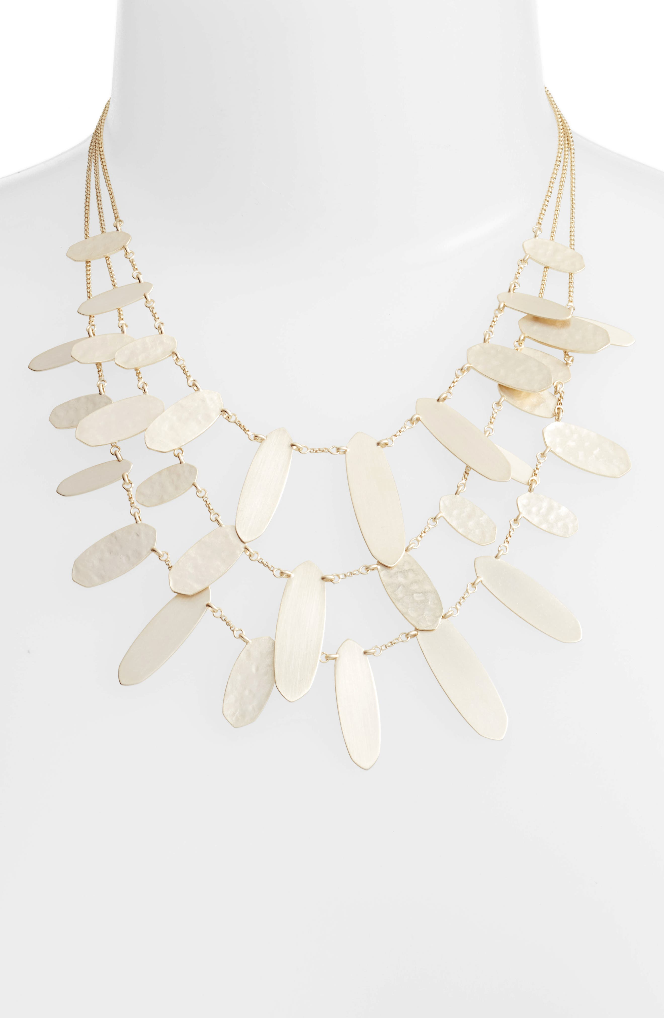 Kendra Scott Nettie Layered Chain Necklace d2tHKD50m