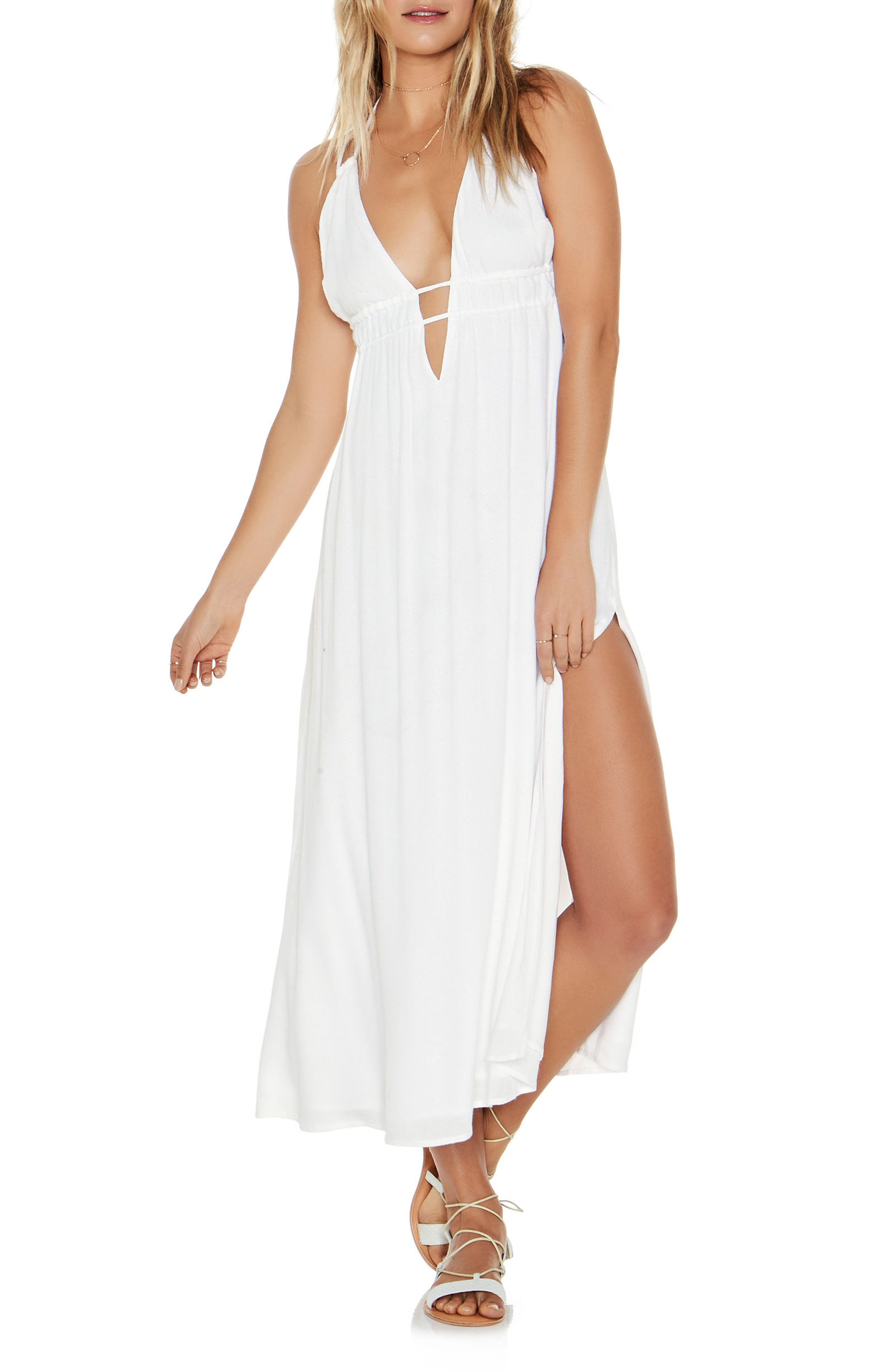 Beachside Beauty Cover-Up Dress,                             Main thumbnail 1, color,                             White