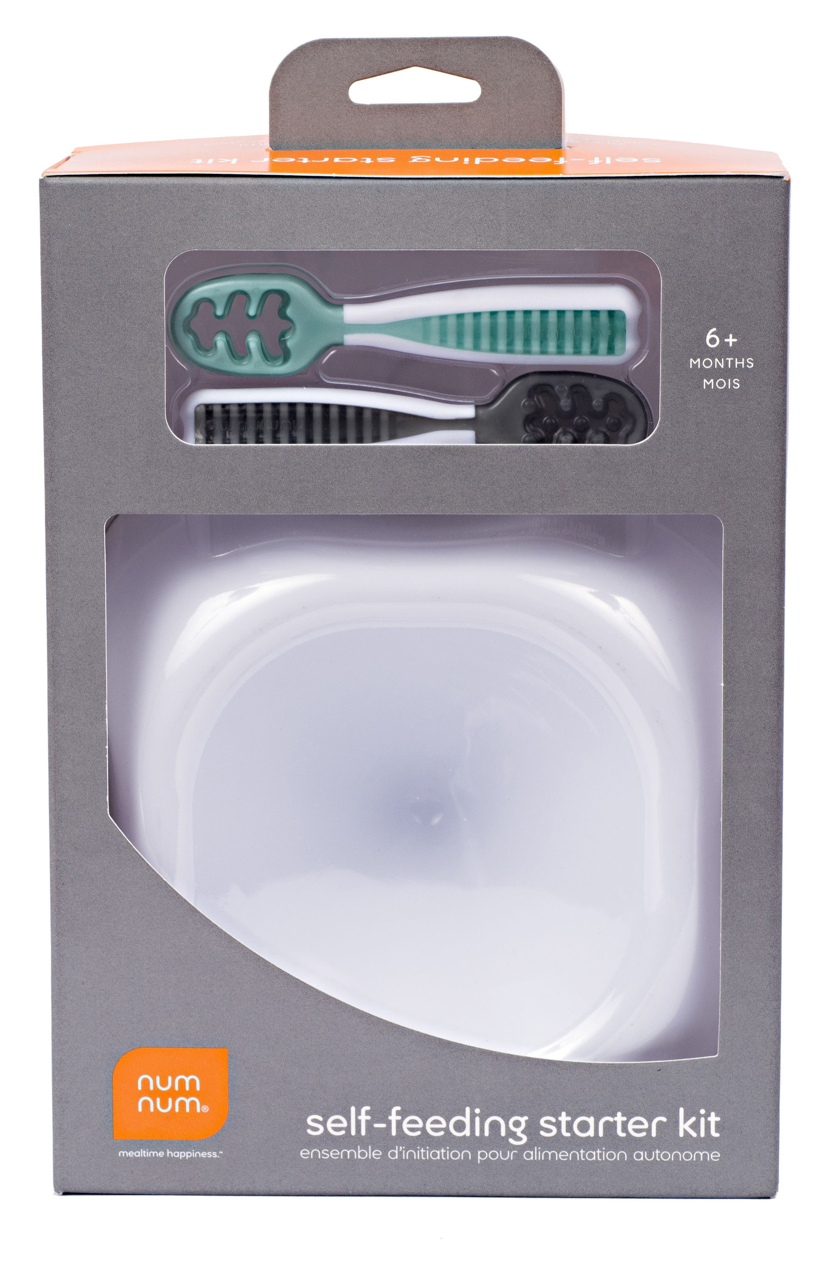 Self-Feeding Starter Kit,                             Alternate thumbnail 3, color,                             Gray/ Green