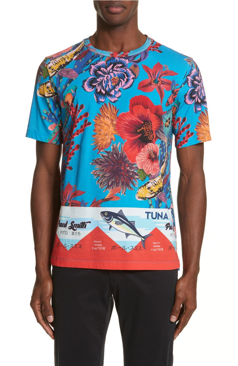 Paul Smith Fish Print T-Shirt | Nordstrom