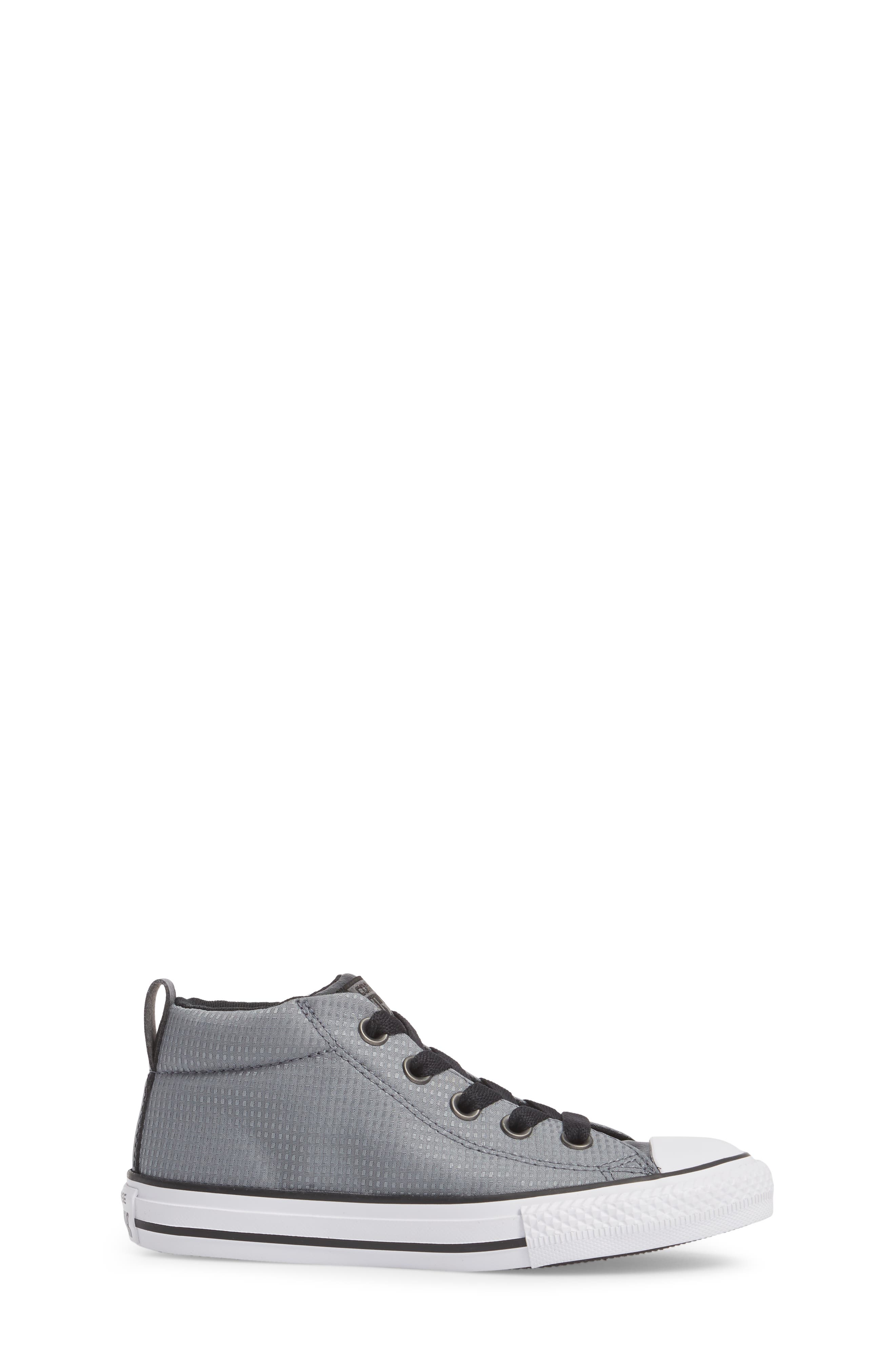 Chuck Taylor<sup>®</sup> All Star<sup>®</sup> Street Mid Backpack Sneaker,                             Alternate thumbnail 3, color,                             Cool Grey