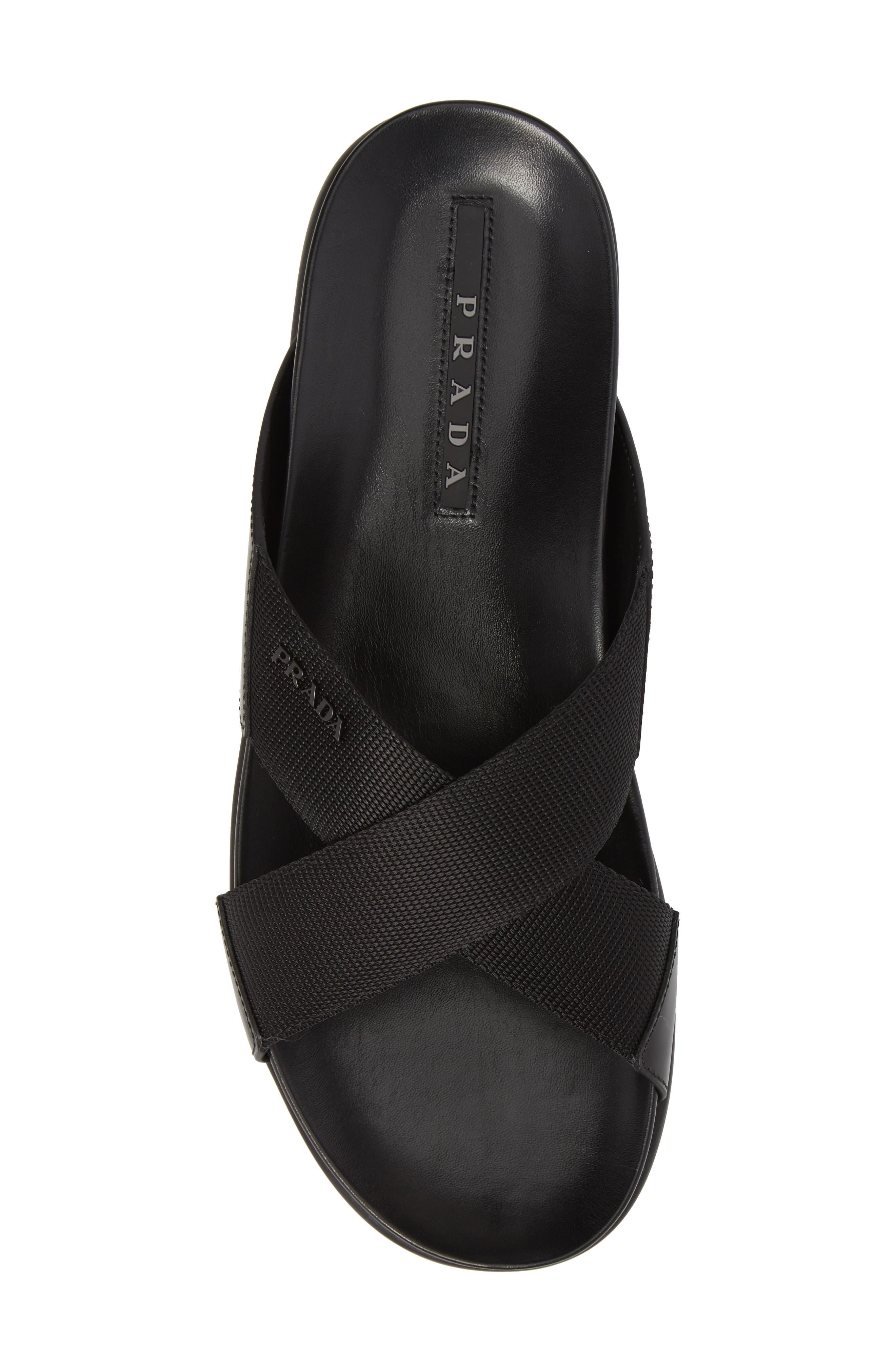 Alternate Image 5  - Prada Linea Rossa Slide Sandal (Men)