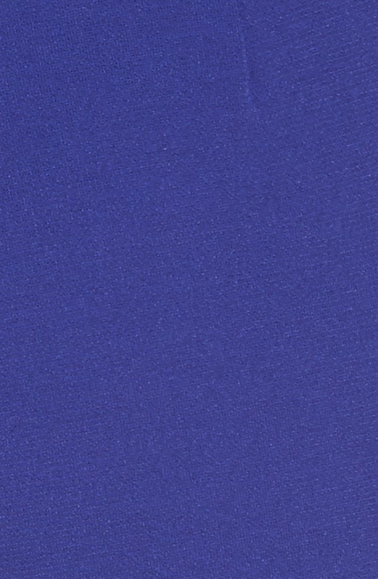 Calerno Crepe Crop Trousers,                             Alternate thumbnail 5, color,                             Violet