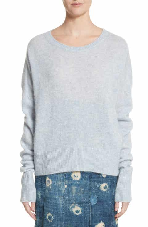 Adam Lippes Brushed Cashmere Sweater