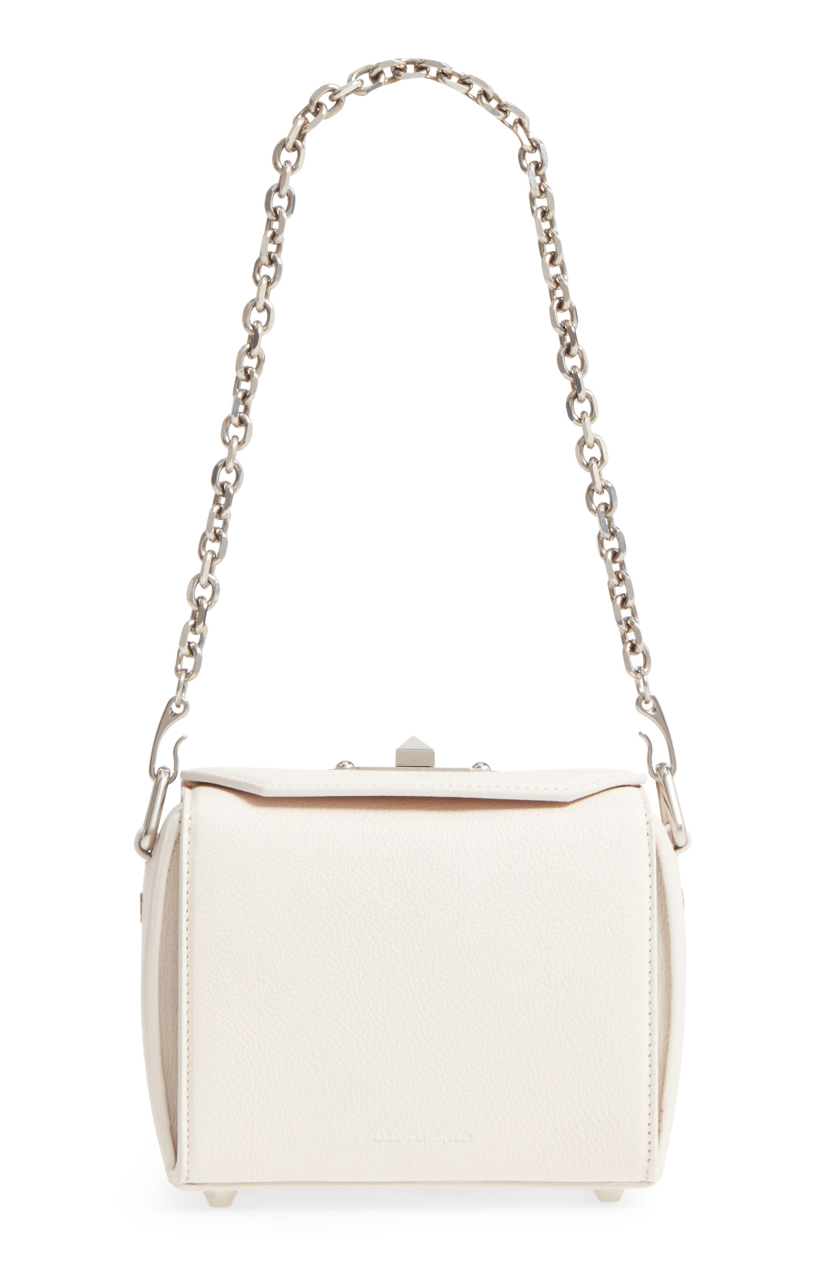 Main Image - Alexander McQueen Box Bag 16 Grained Leather Bag