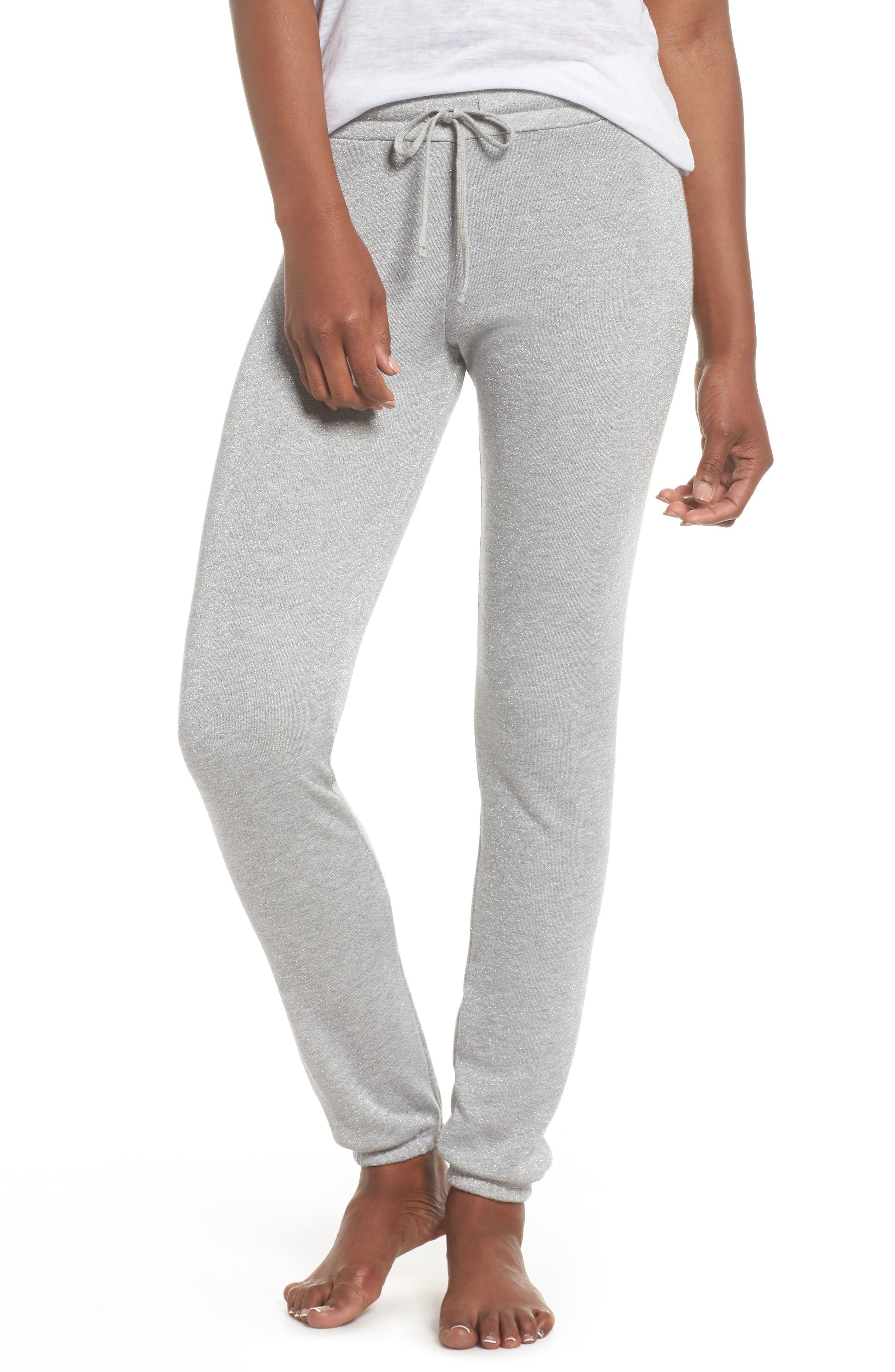 Michael Lauren Vintage Shimmer Lounge Jogger Pants