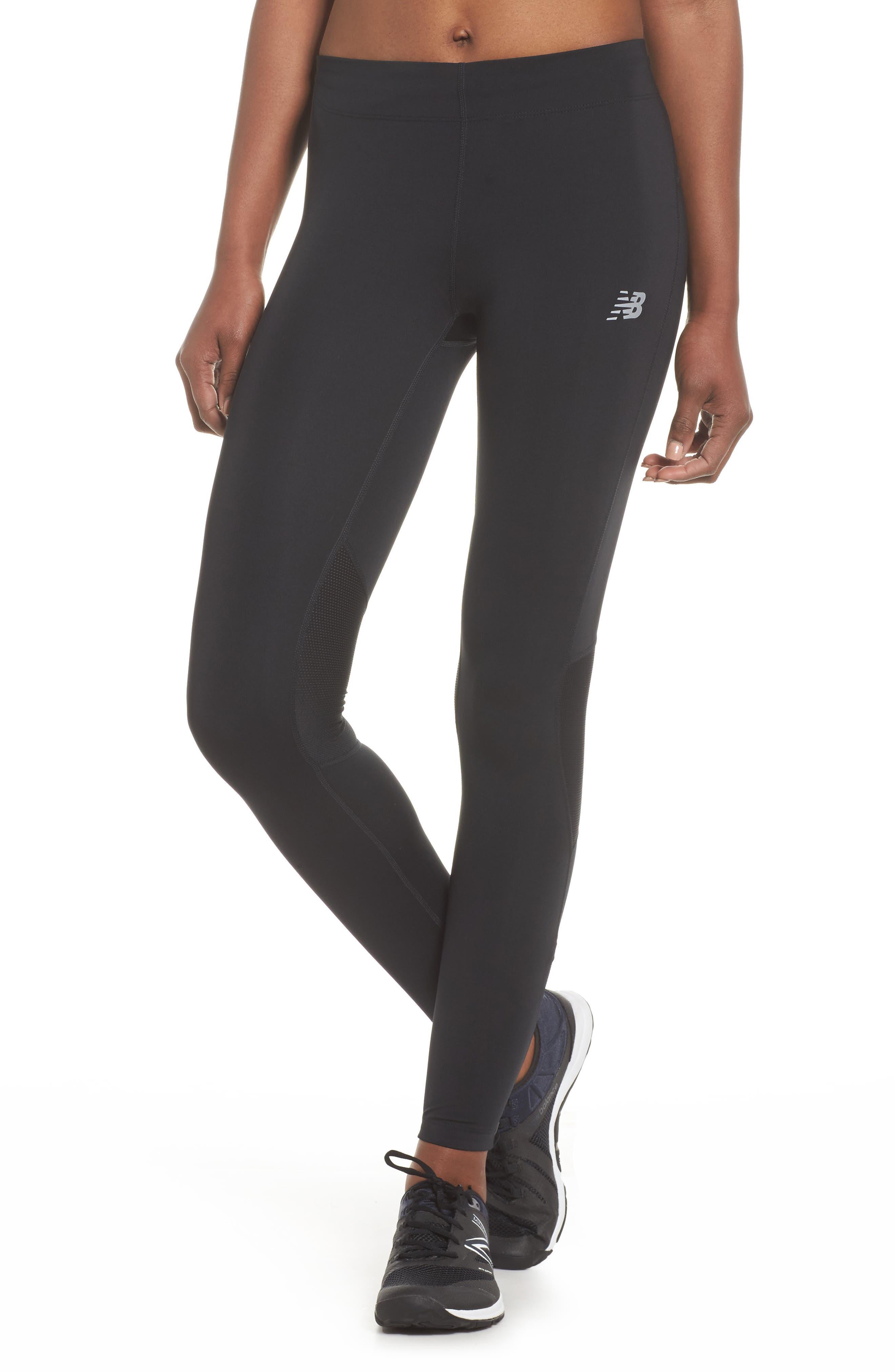 Impact Premium Running Tights,                         Main,                         color, Black