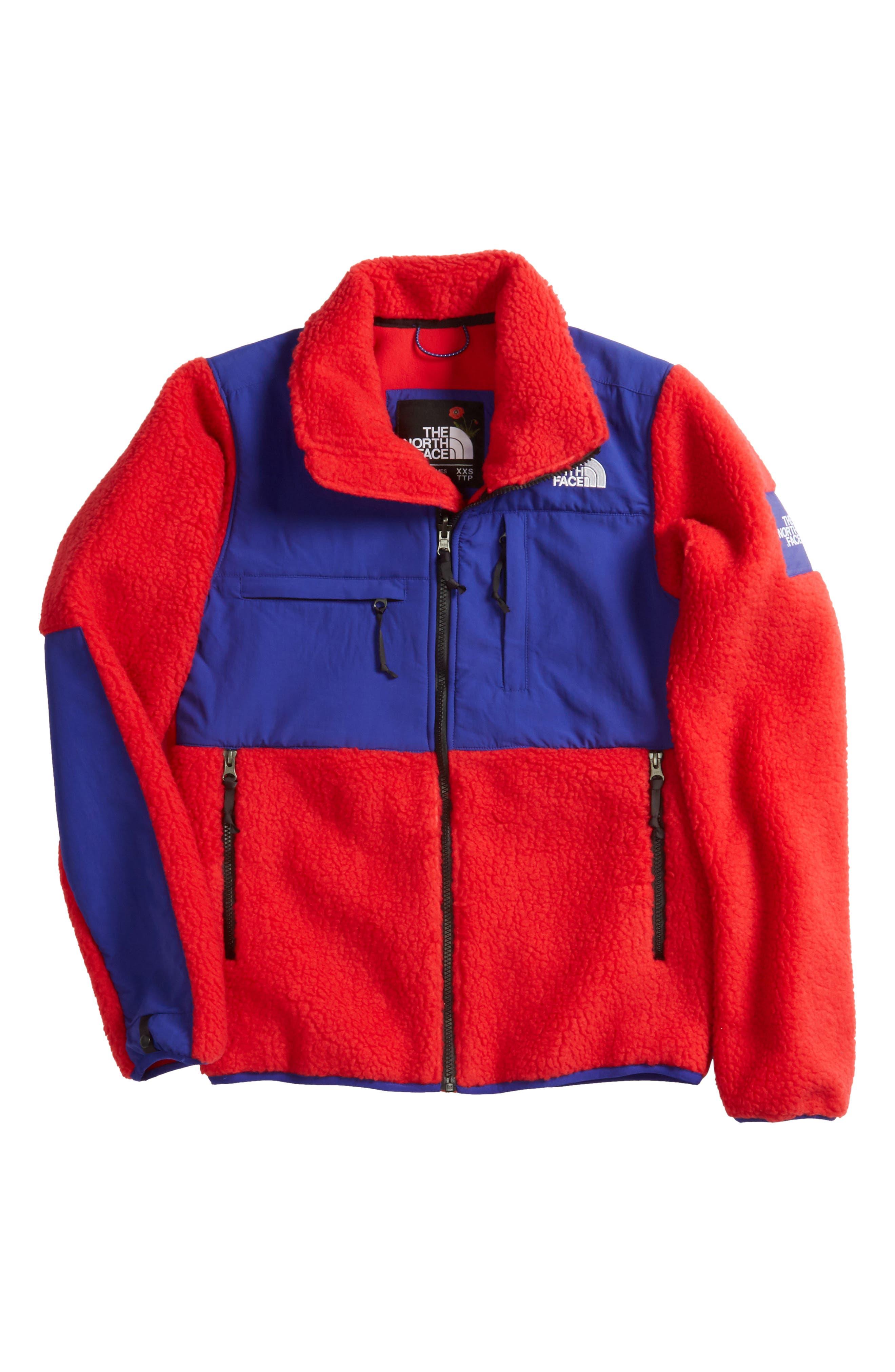 Denali Jacket,                         Main,                         color, Tnf Red