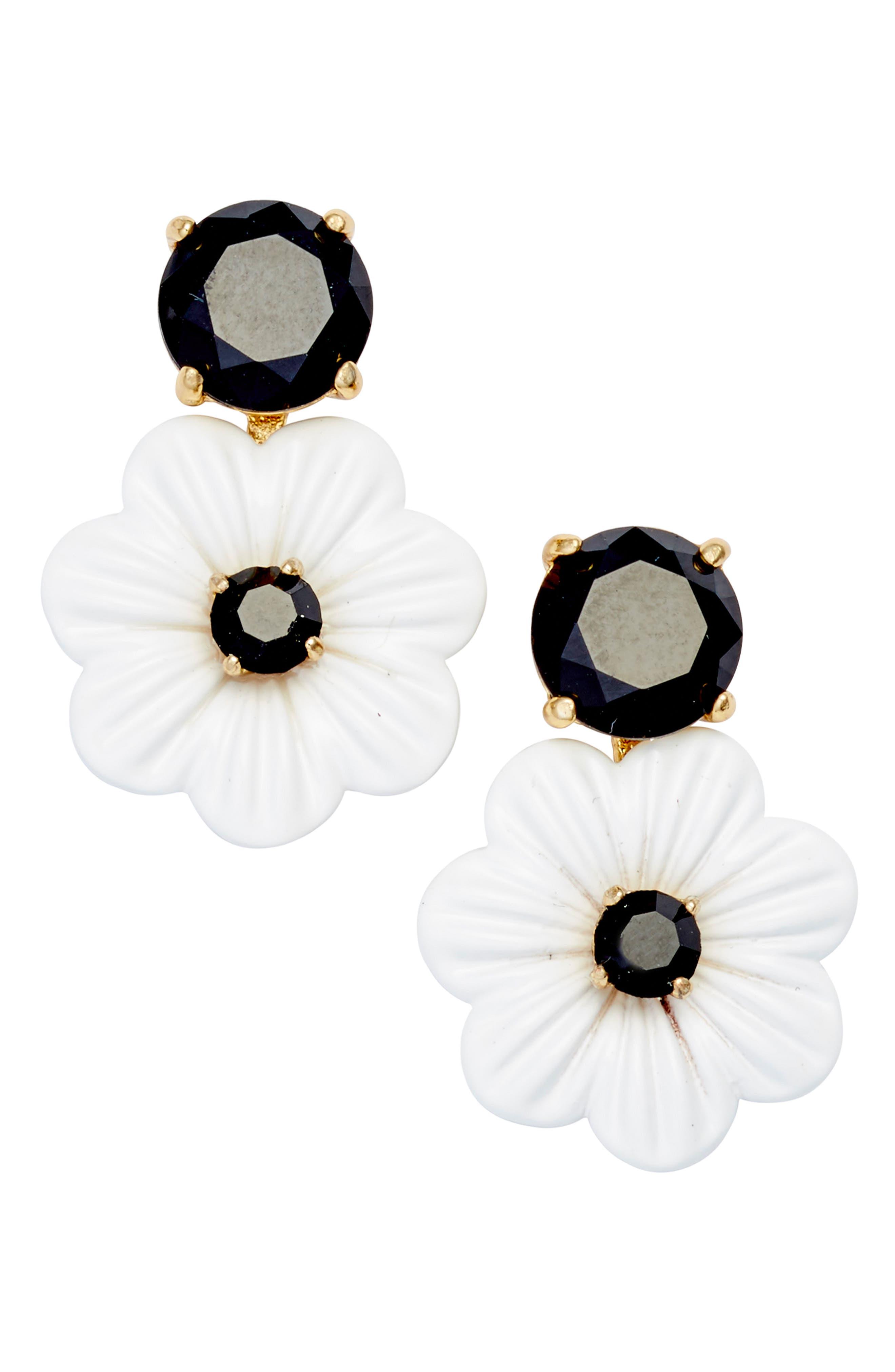 posy grove stud earrings,                             Main thumbnail 1, color,                             Neutral Multi