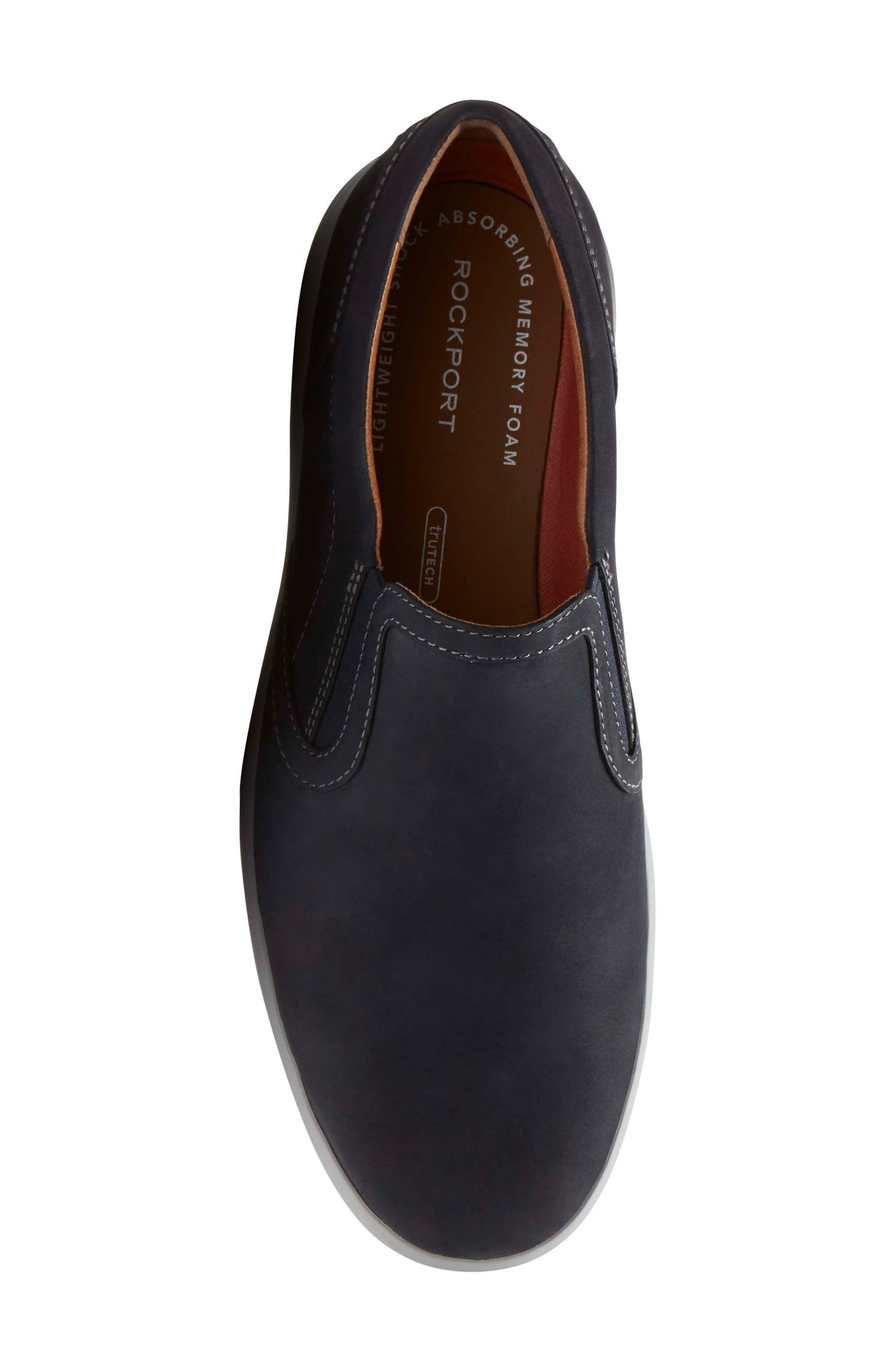Alternate Image 5  - Rockport Thurston Gore Slip-On (Men)