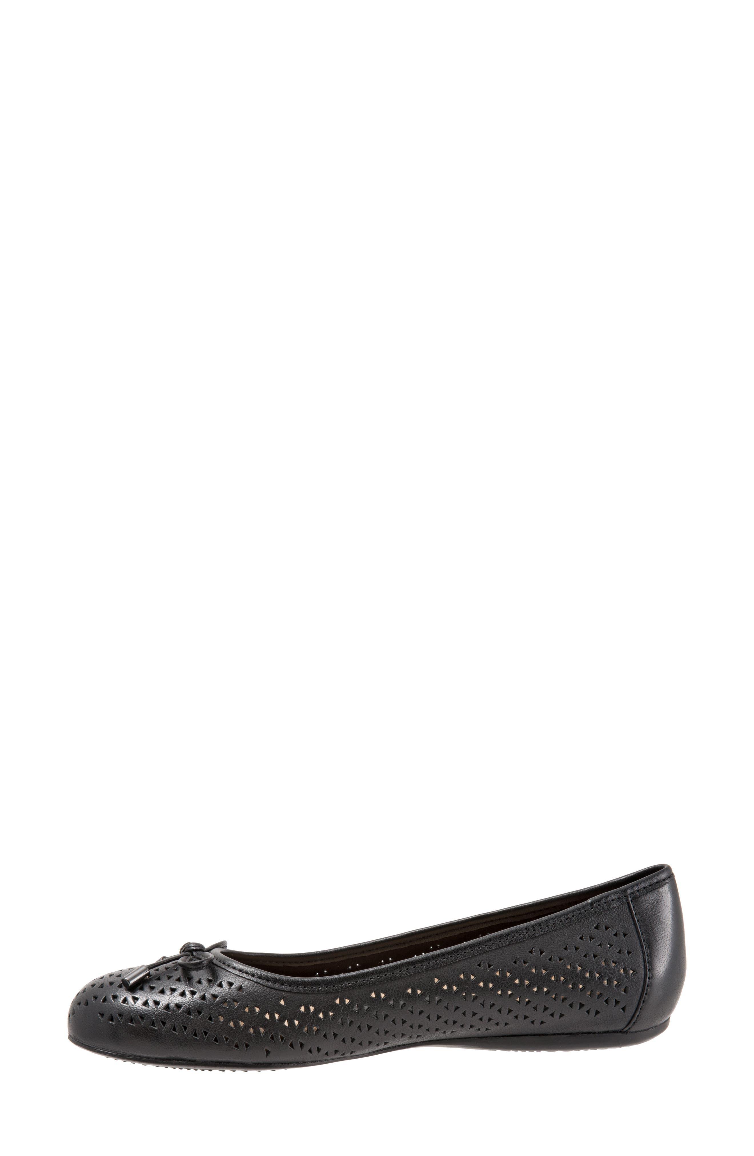 Napa Flat,                             Alternate thumbnail 3, color,                             Black Leather