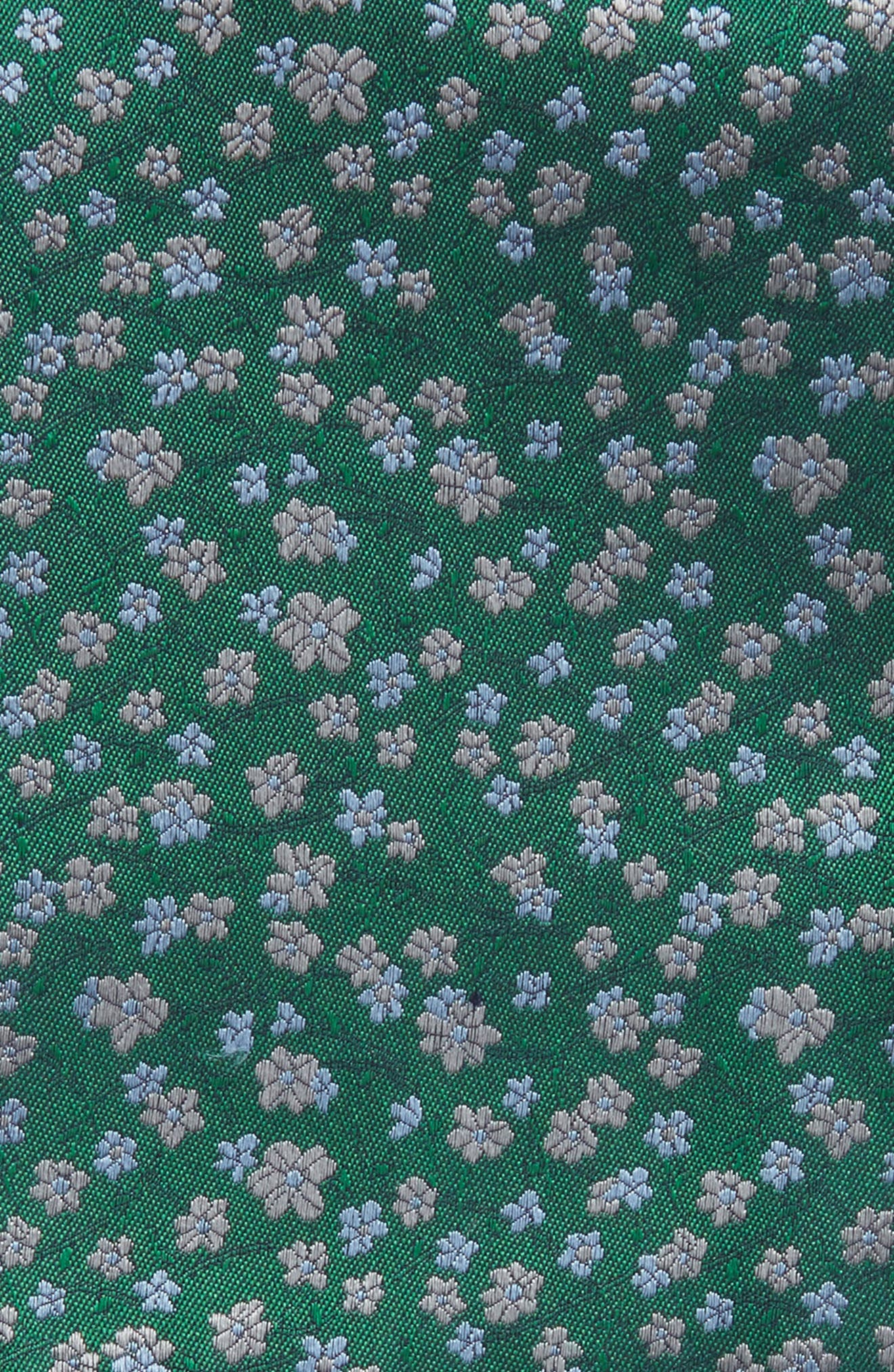 Alternate Image 3  - The Tie Bar Free Fall Floral Silk Pocket Square