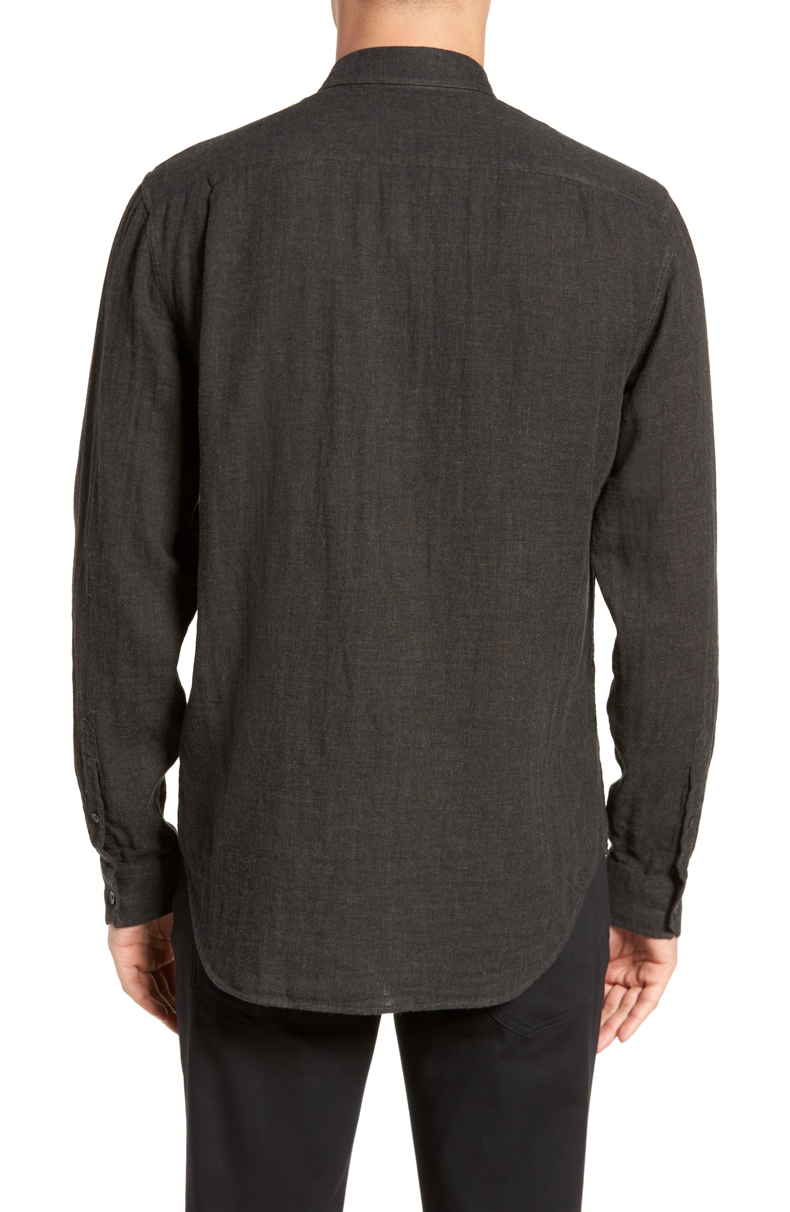 Double Face Sport Shirt,                             Alternate thumbnail 3, color,                             H Underwood