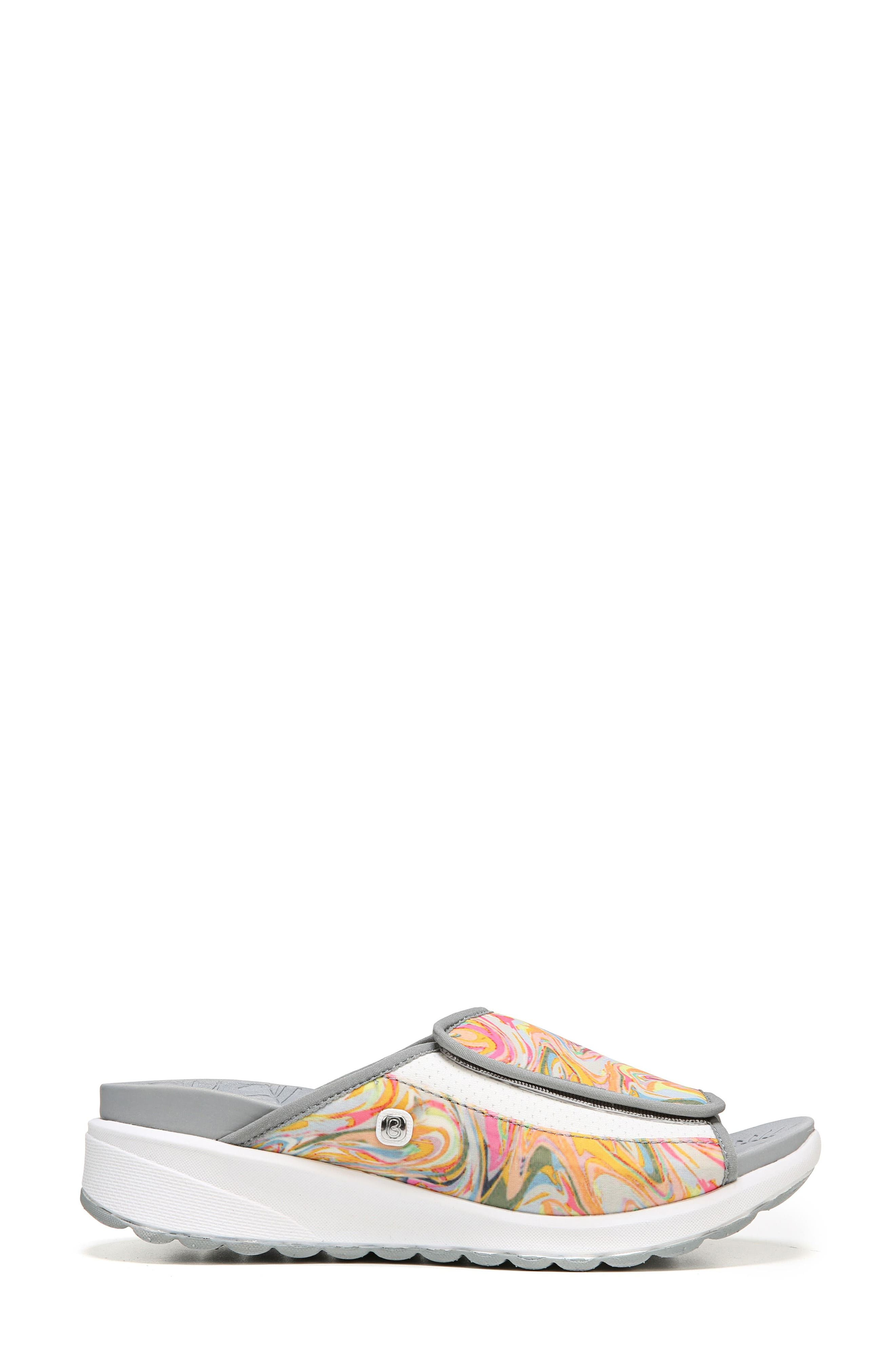 Galaxy Slide Sandal,                             Alternate thumbnail 3, color,                             Lava Fabric