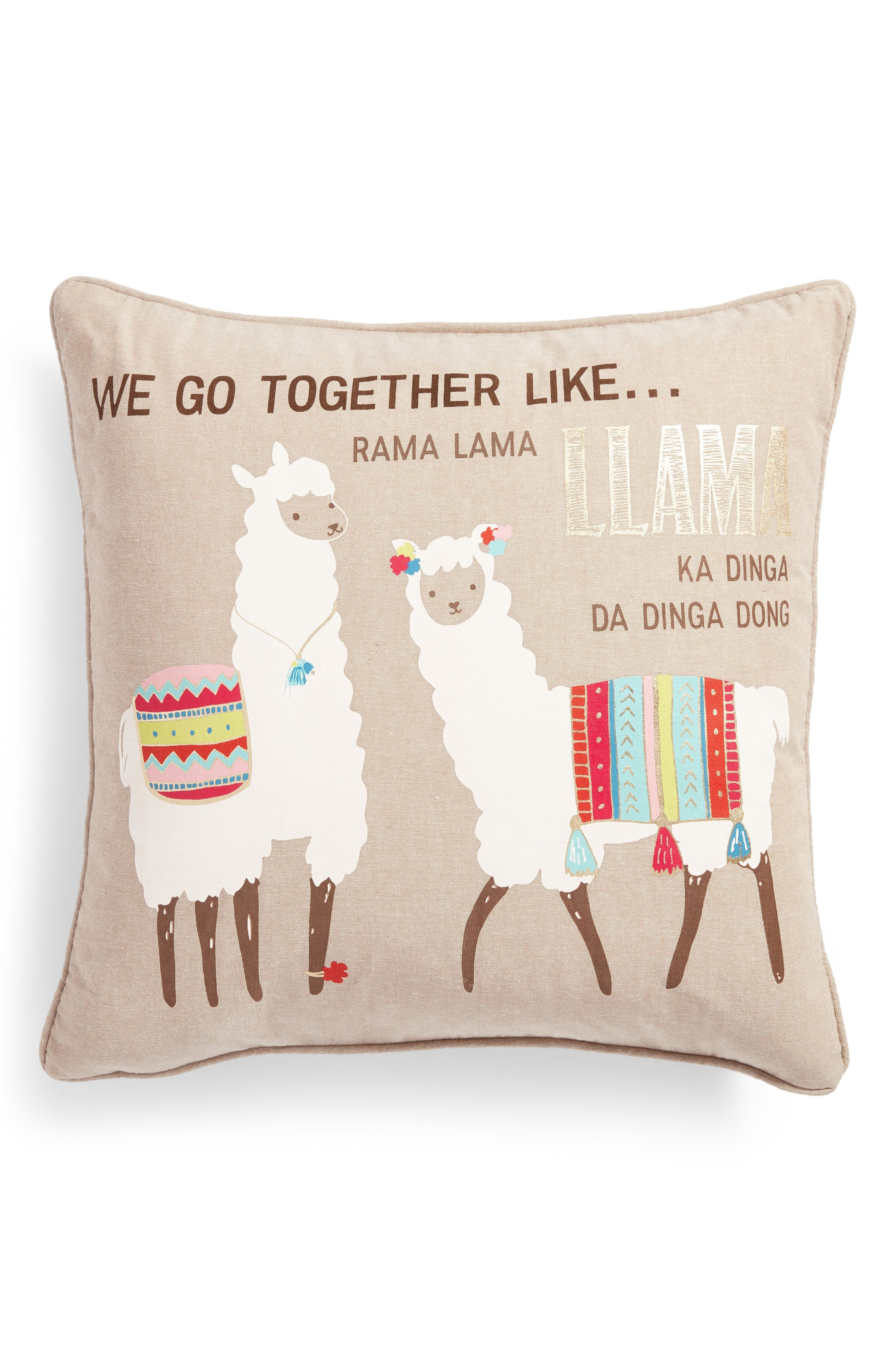 decorative pillows  poufs bedrooms  nordstrom - levtex we go together accent pillow