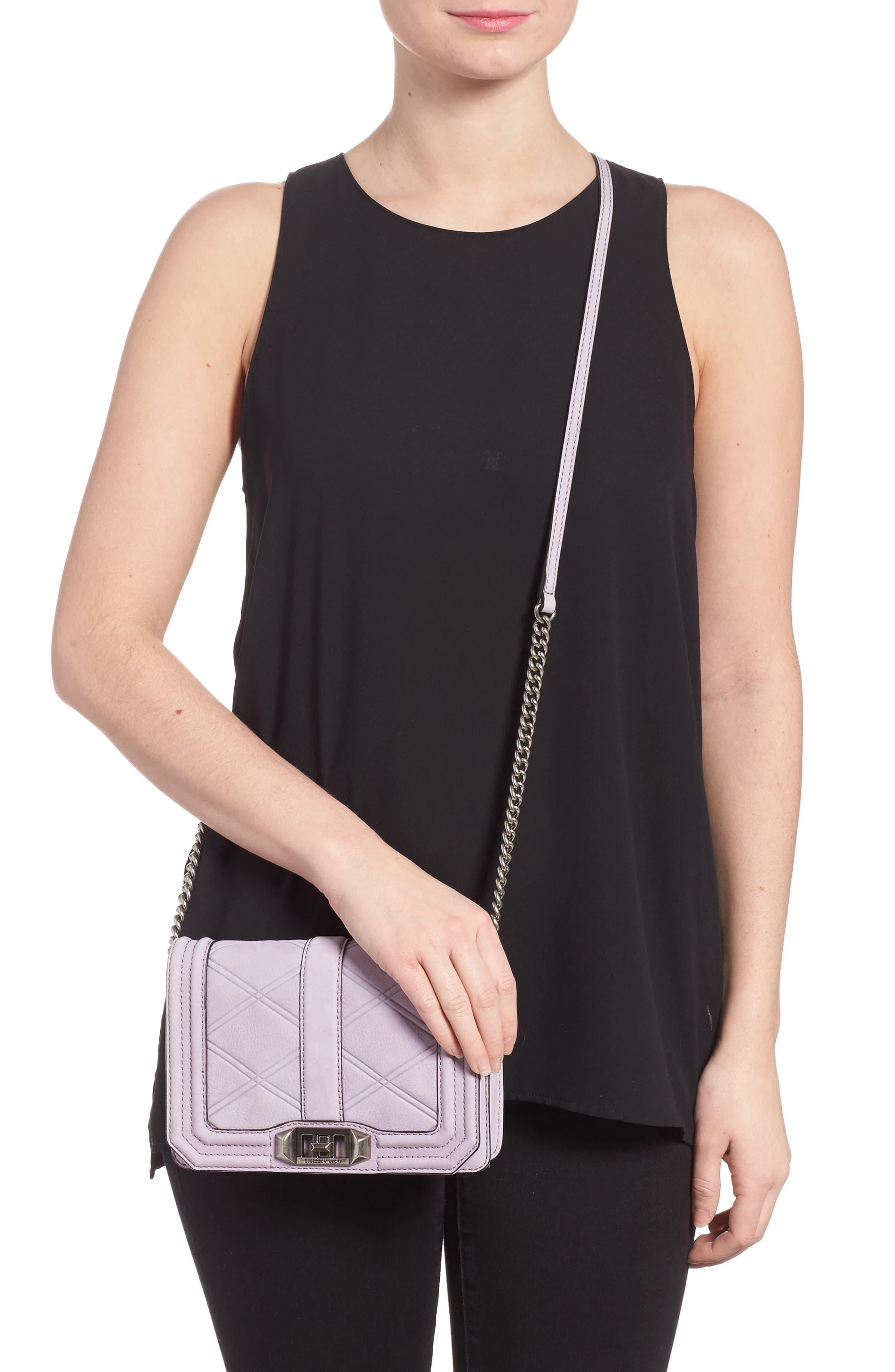 Alternate Image 2  - Rebecca Minkoff Love Nubuck Crossbody Bag