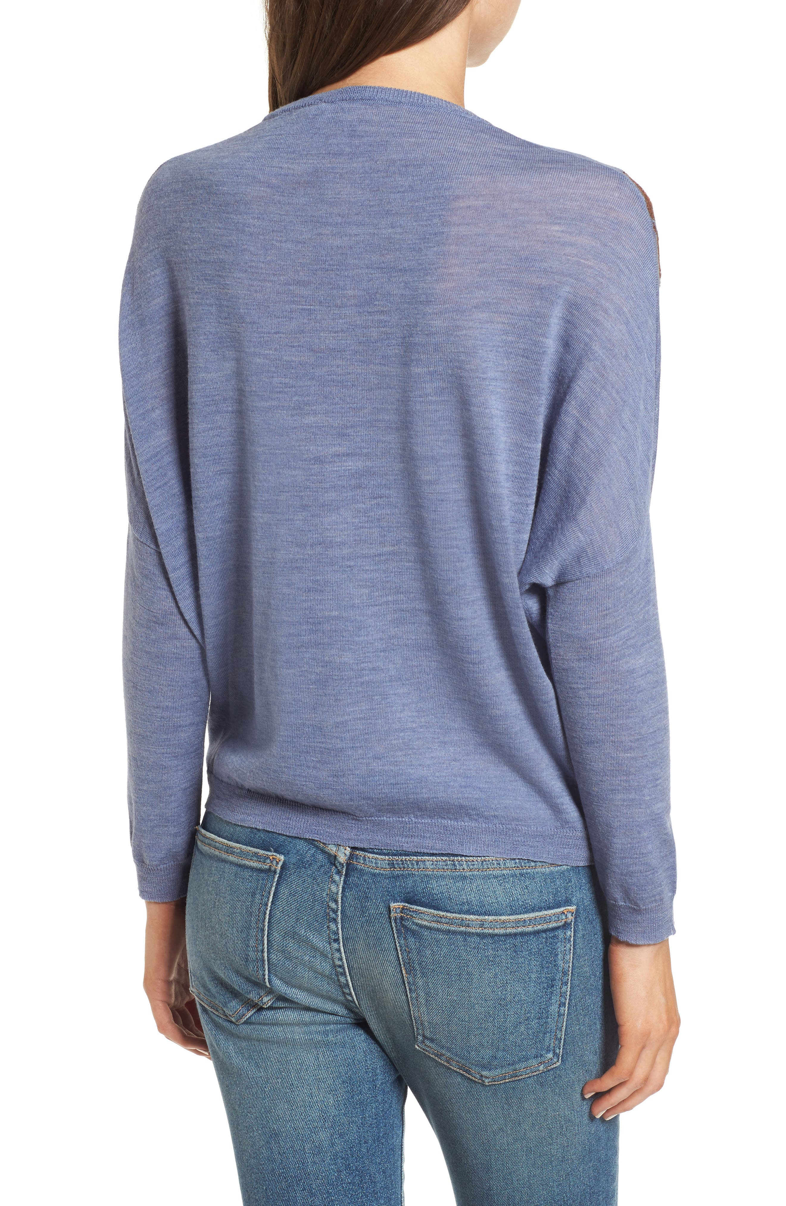 Blupalm Sweater,                             Alternate thumbnail 2, color,                             Denim