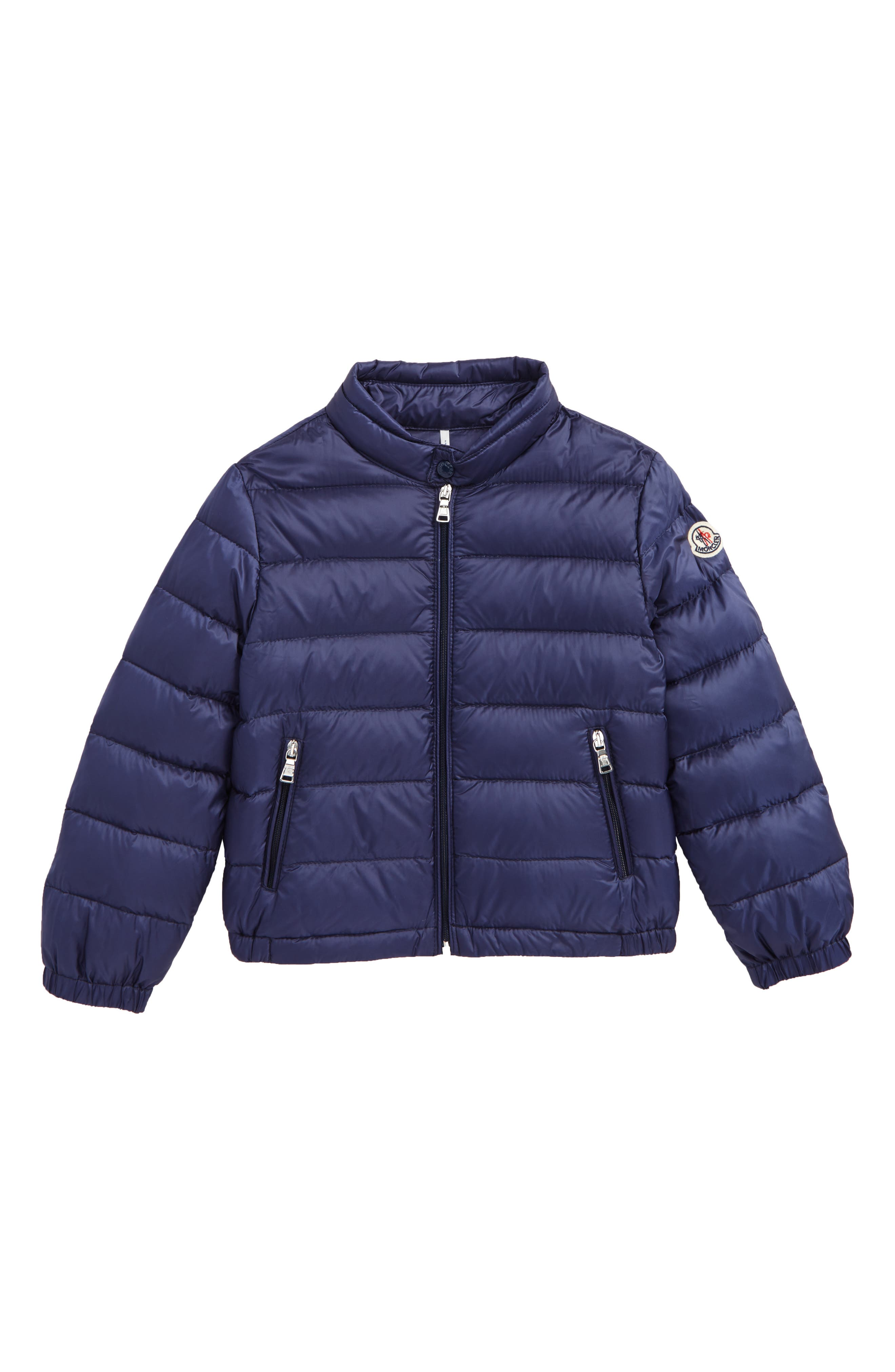 Alternate Image 1 Selected - Moncler Quilted Down Jacket (Baby Boys & Toddler Boys)