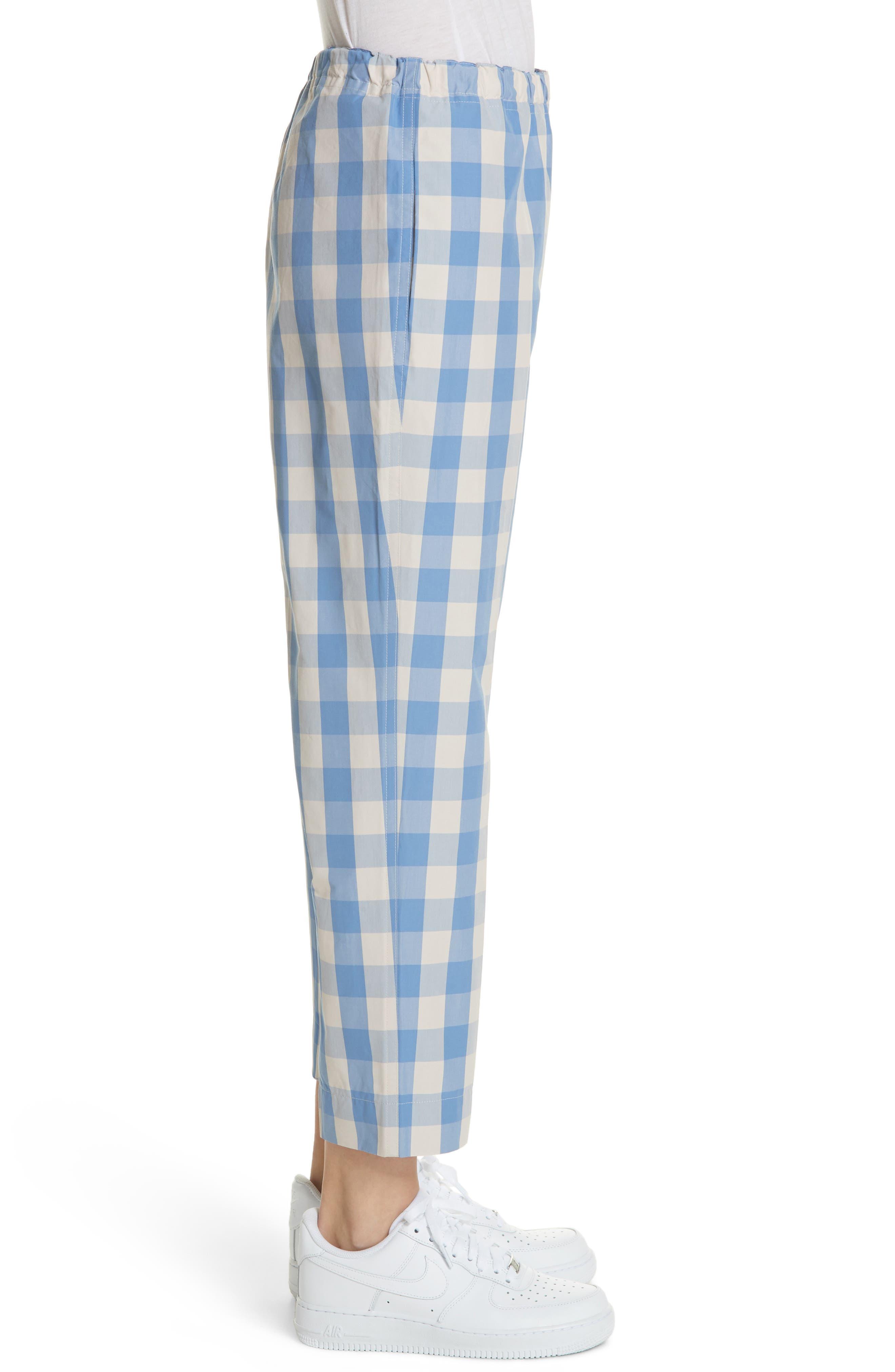 Alternate Image 3  - Sofie D'Hoore Plaid Carrot Pants