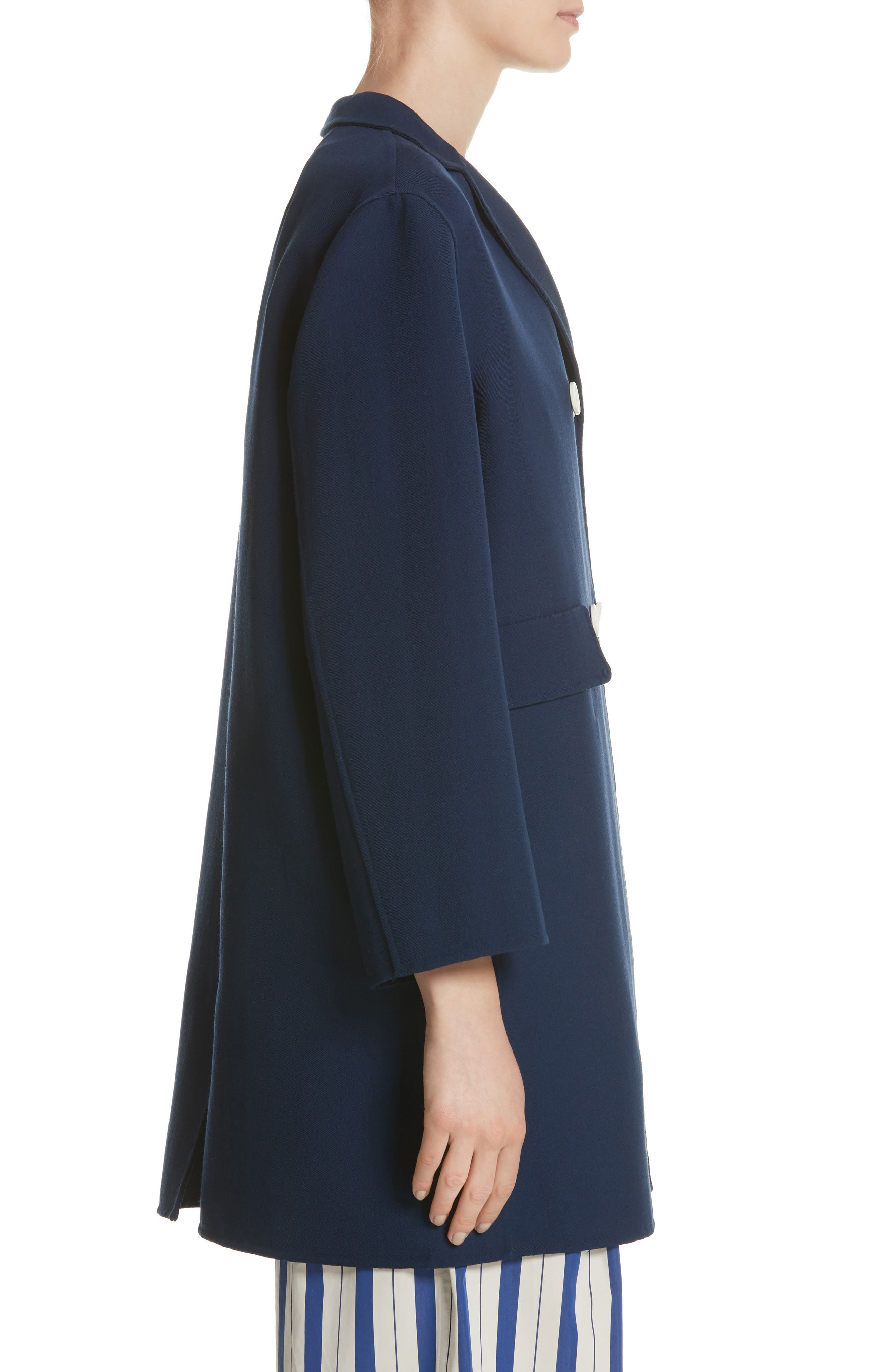 Contrast Button Peacoat,                             Alternate thumbnail 3, color,                             Navy