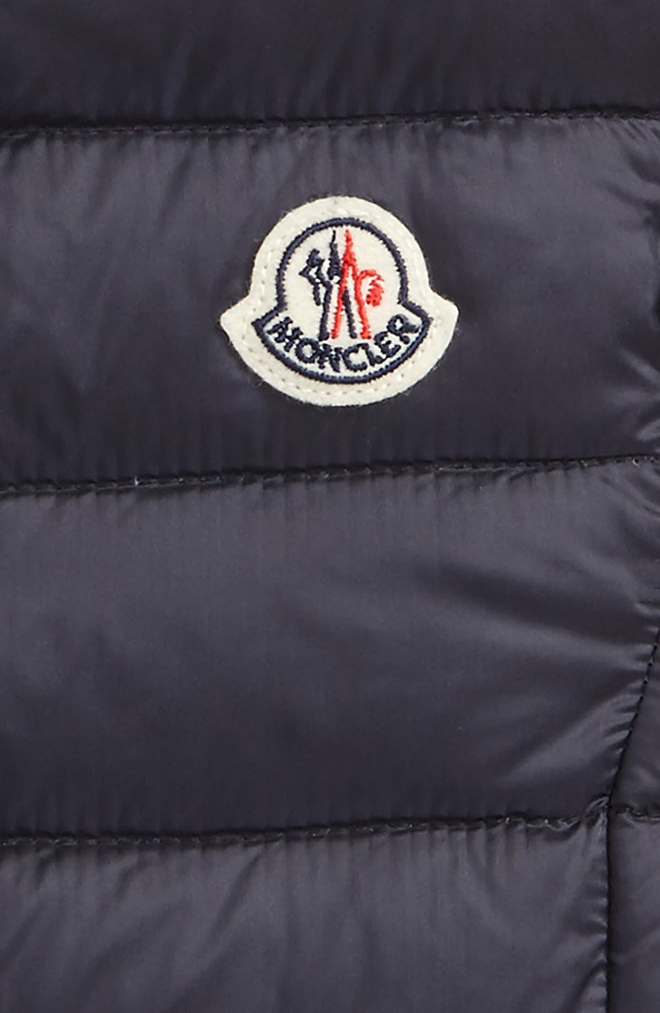 Alternate Image 2  - Moncler Liane Quitled Down Water Resistant Vest (Little Girls & Big Girls)