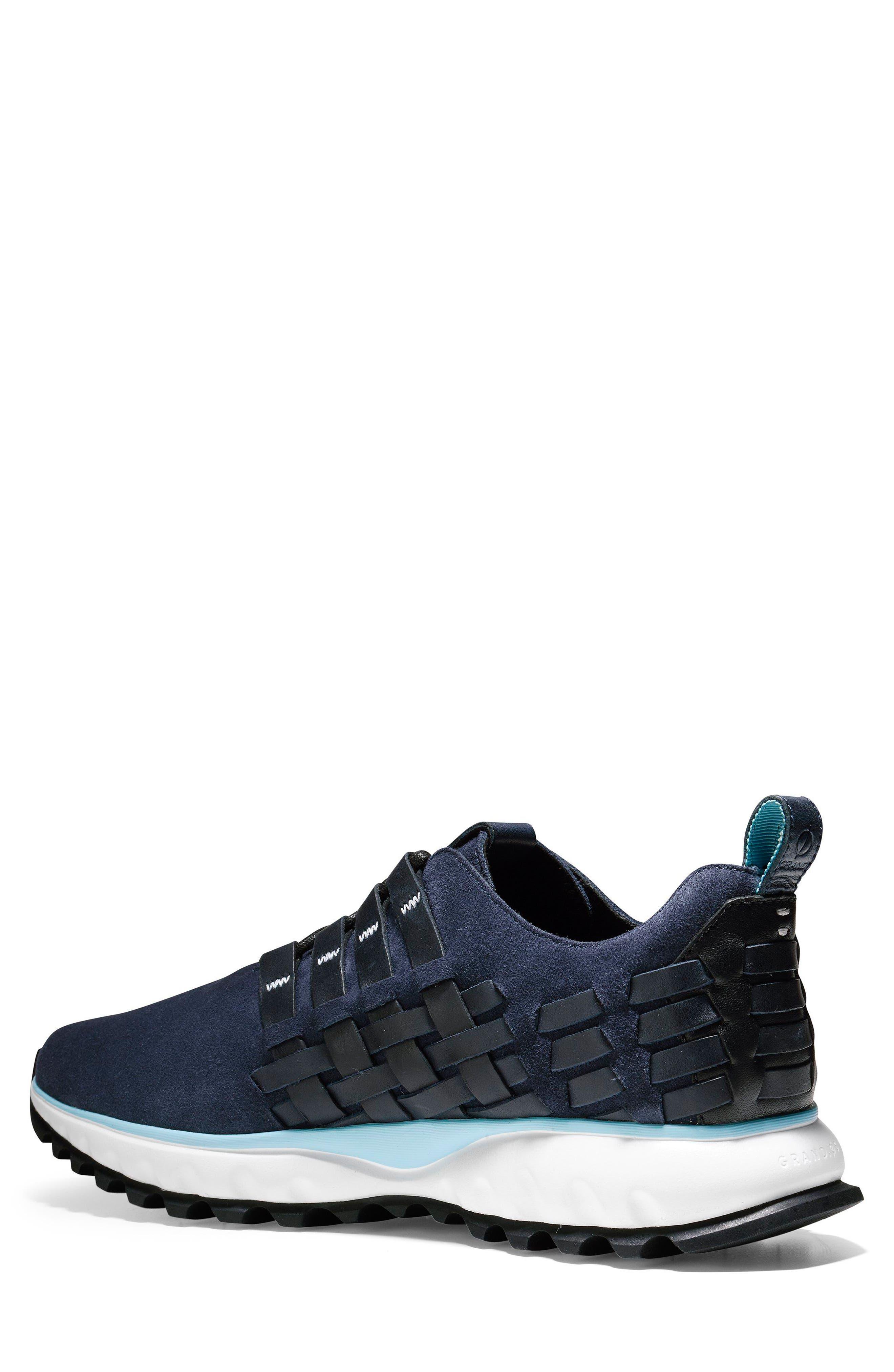 GrandExplore All Terrain Woven Sneaker,                             Alternate thumbnail 2, color,                             Marine Blue/Optic White/Black