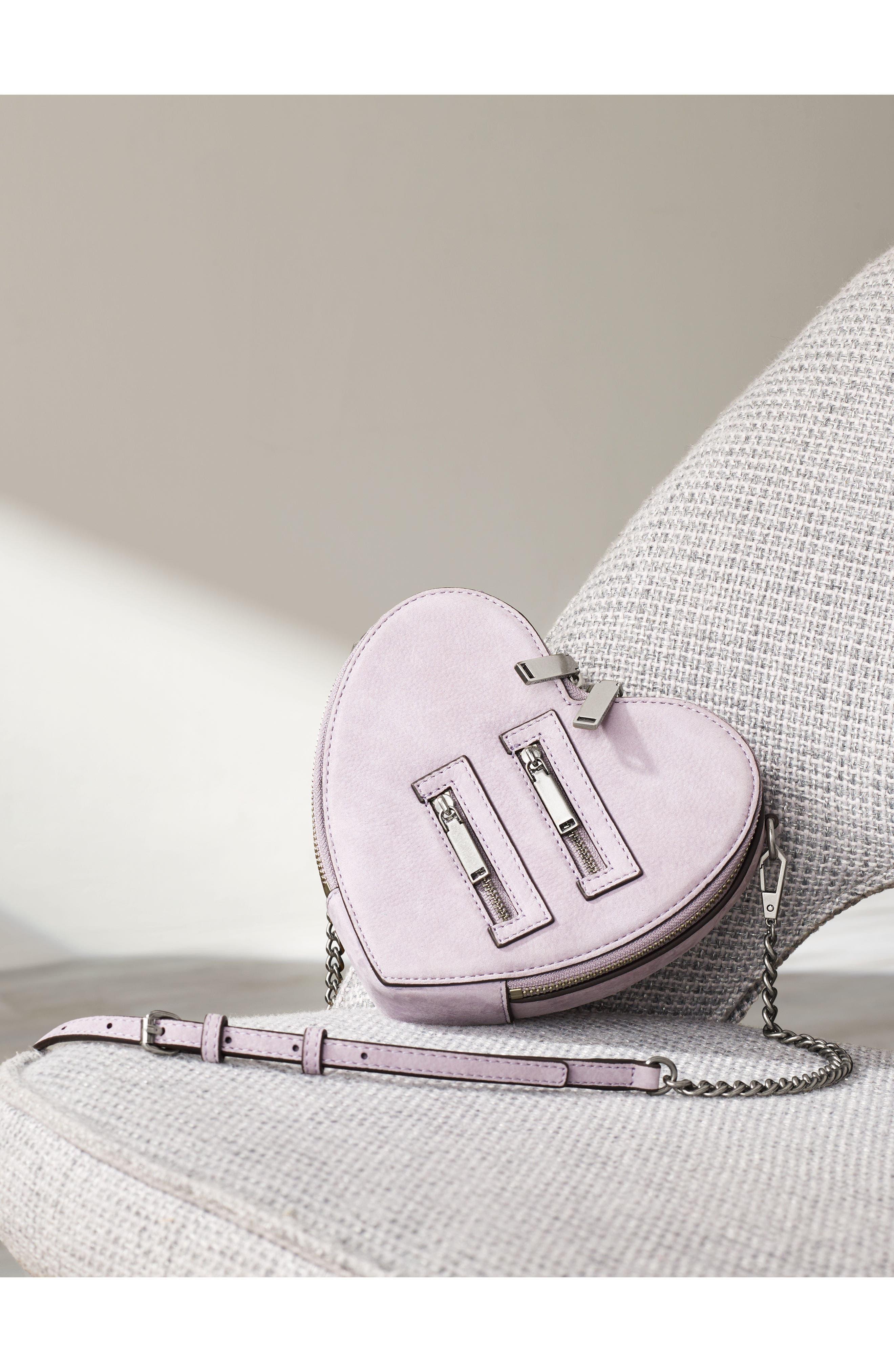 Alternate Image 7  - Rebecca Minkoff Jamie Heart Leather Crossbody Bag