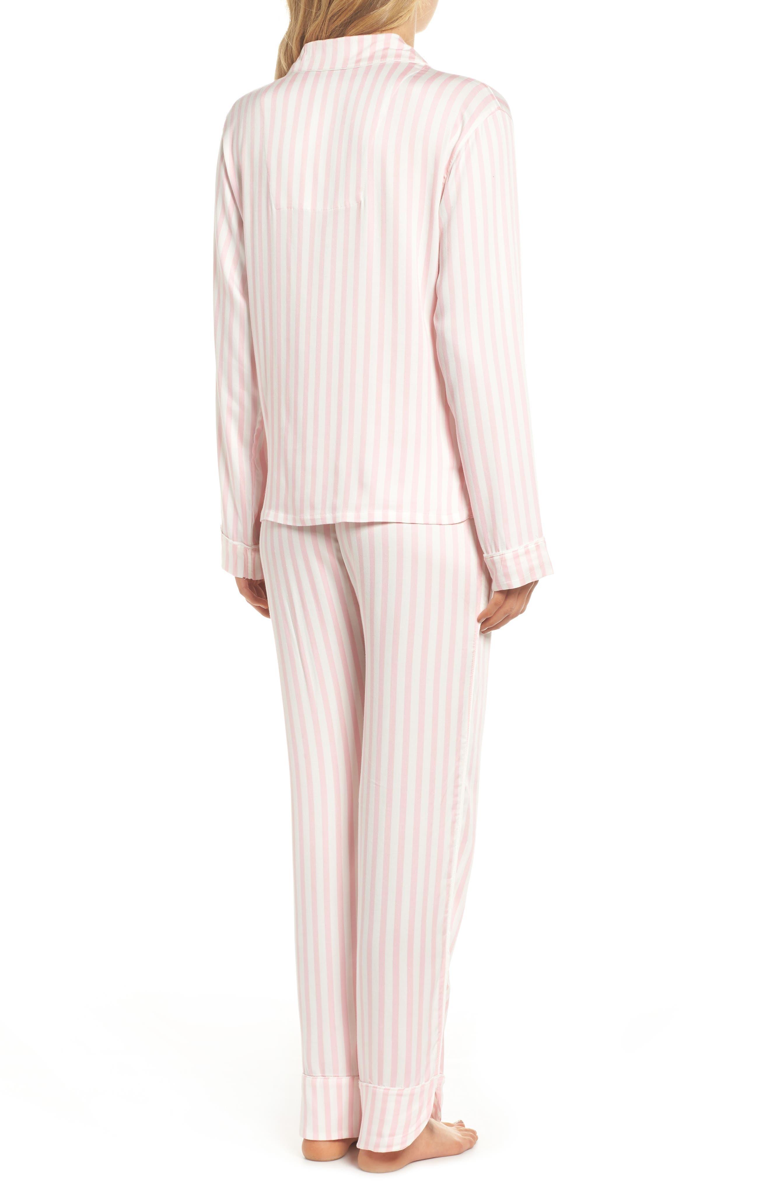 Alternate Image 2  - PJ Salvage Stripe Pajamas