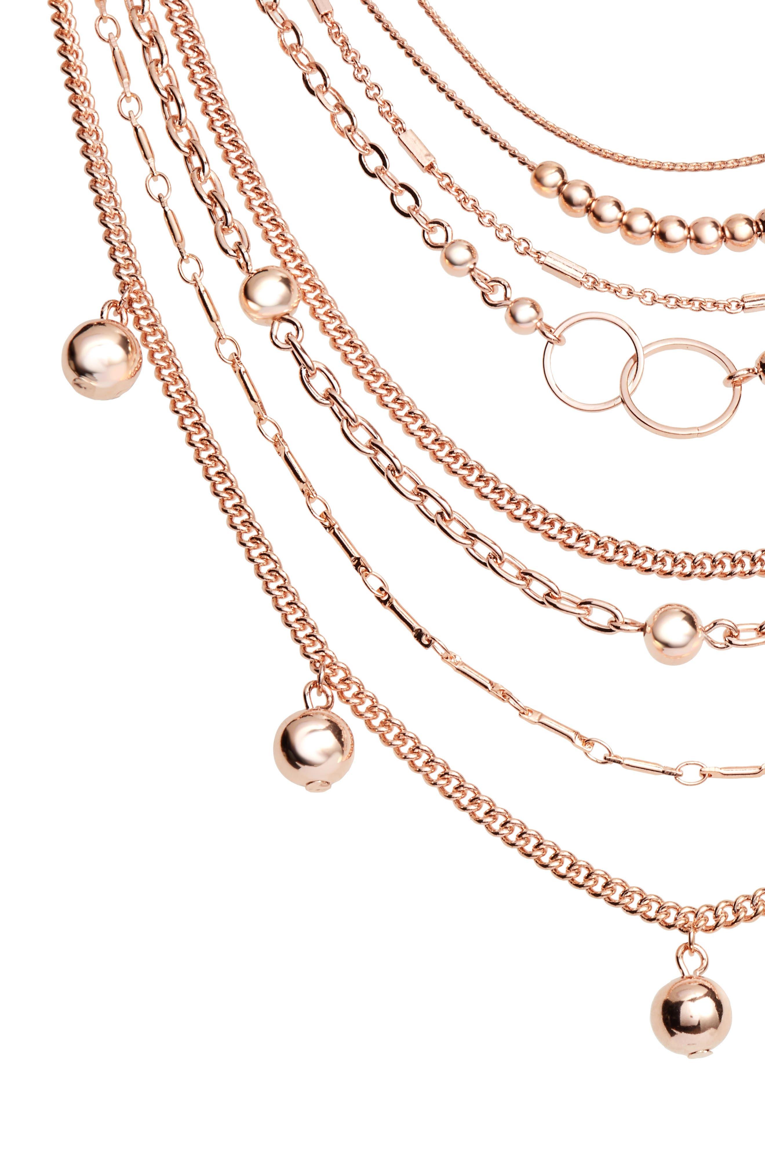 Alternate Image 2  - Halogen® Multistrand Necklace