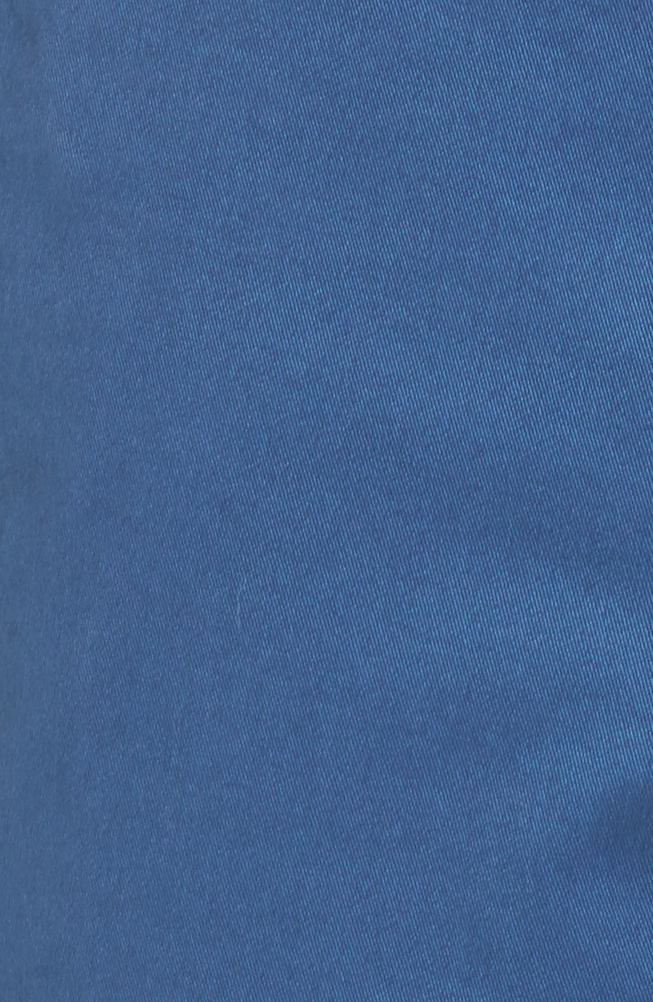 Proshor Slim Fit Chino Shorts,                             Alternate thumbnail 9, color,                             Dark Blue