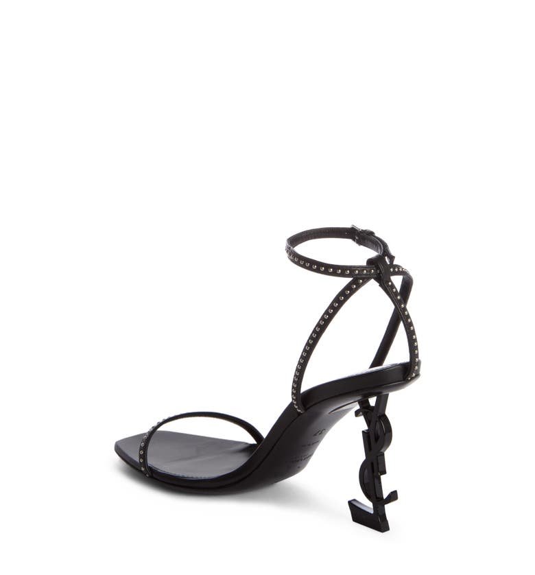 Main Image - Saint Laurent Opyum YSL Studded Ankle Strap Sandal (Women)