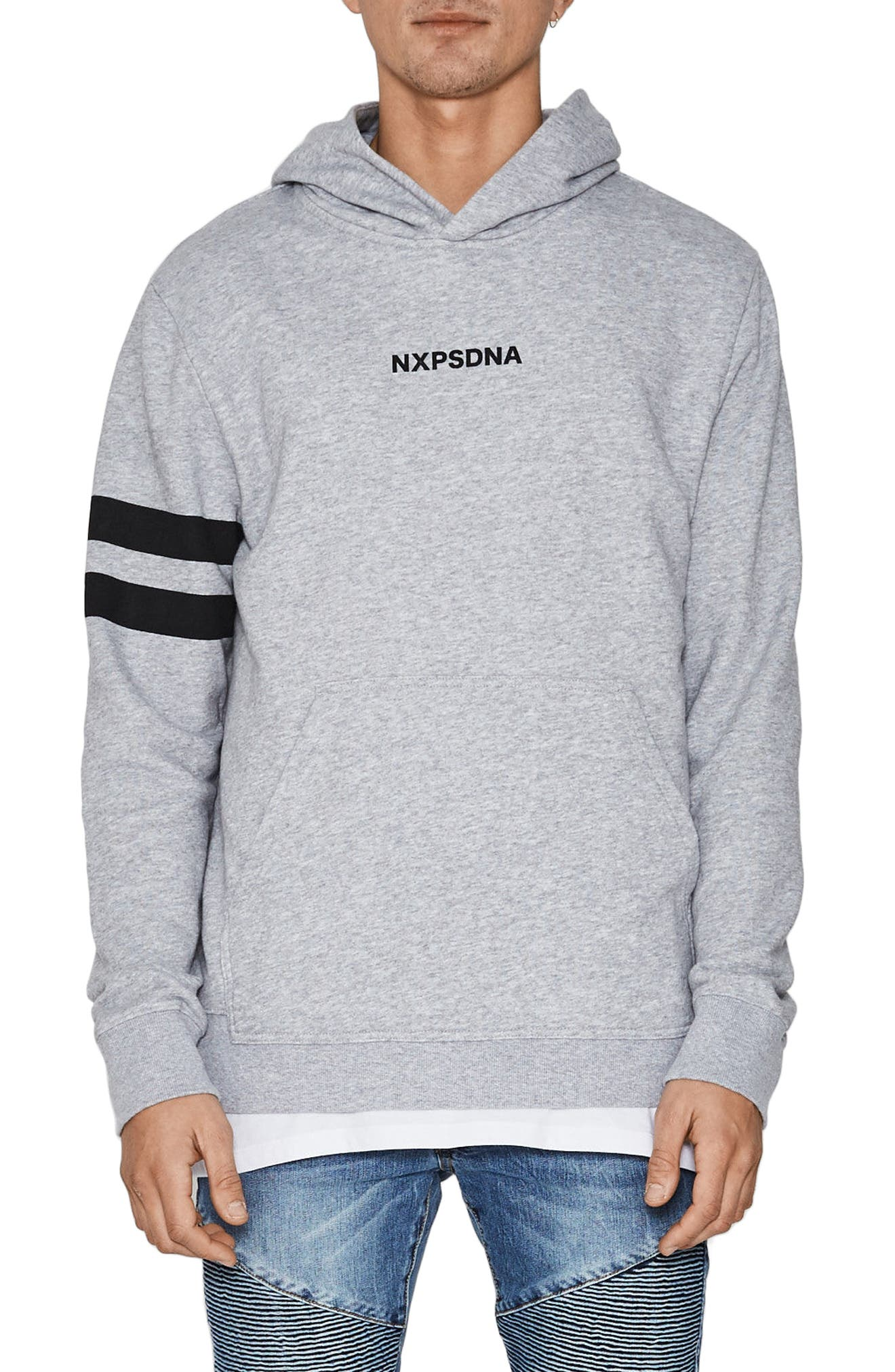 Overtime Hoodie,                             Main thumbnail 1, color,                             Grey Marle