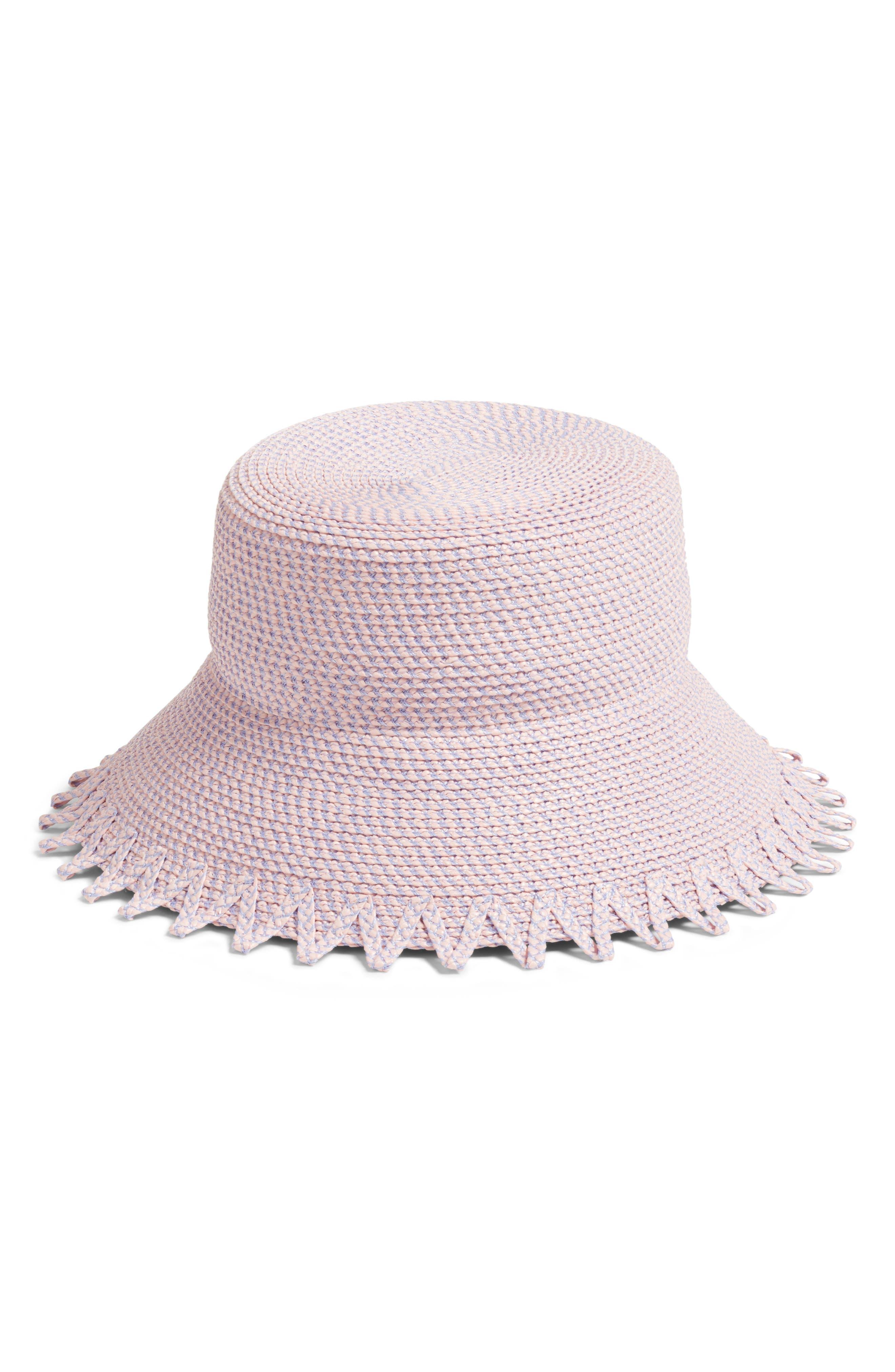 ELOISE SQUISHEE BUCKET HAT - PINK