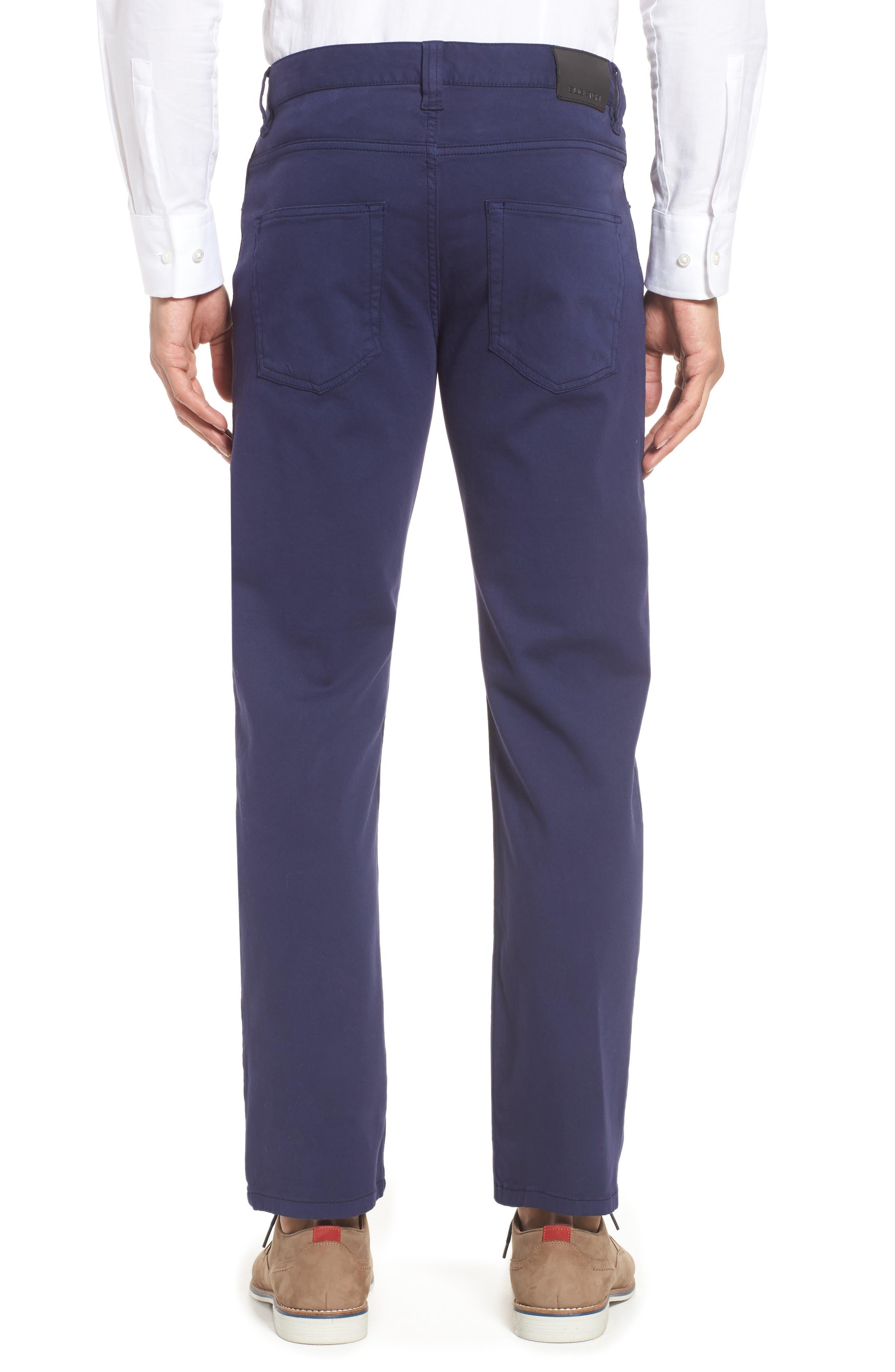 Five-Pocket Straight Leg Pants,                             Alternate thumbnail 2, color,                             Midnight