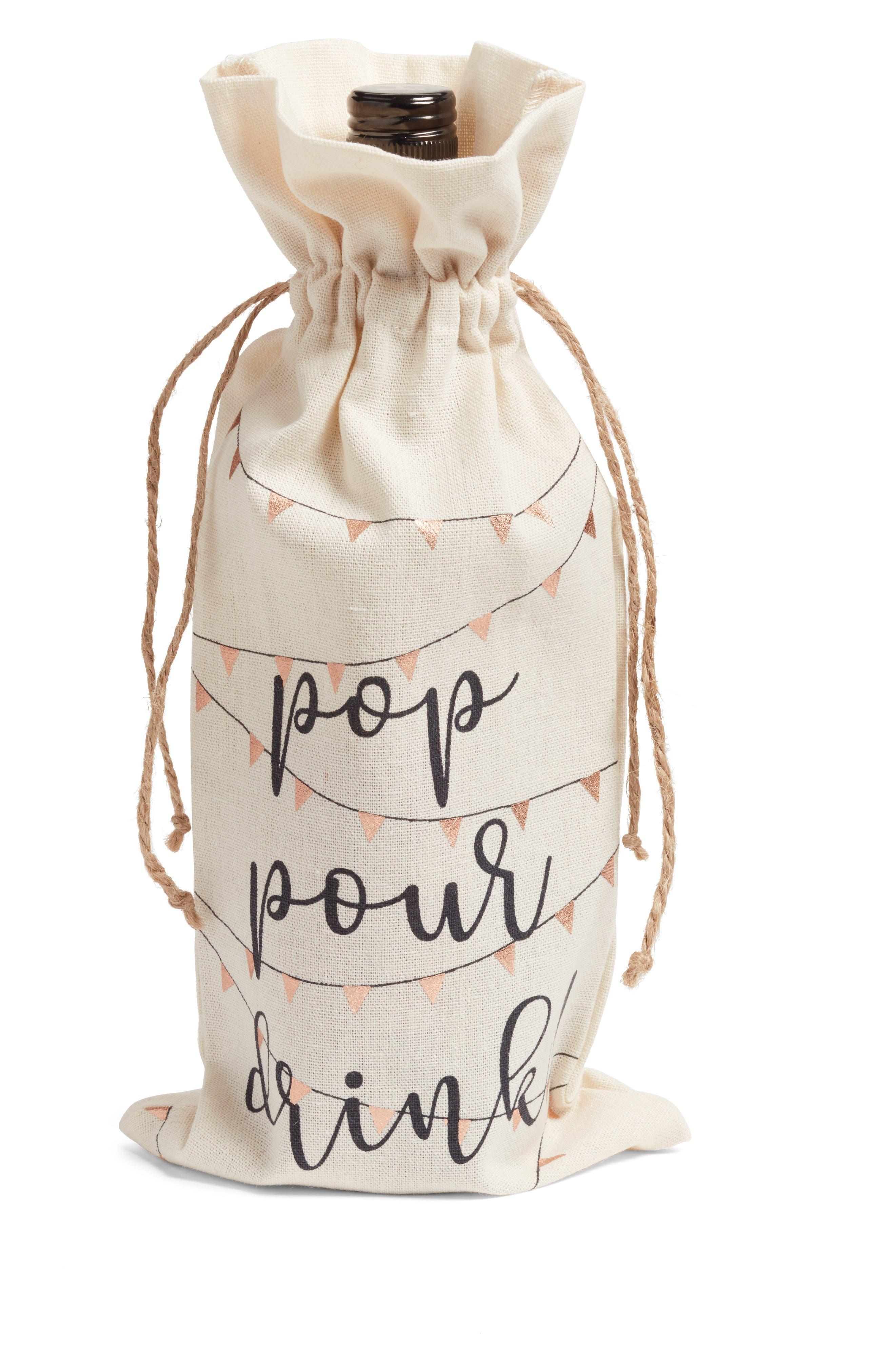Levtex Pop Pour Drink Wine Bag