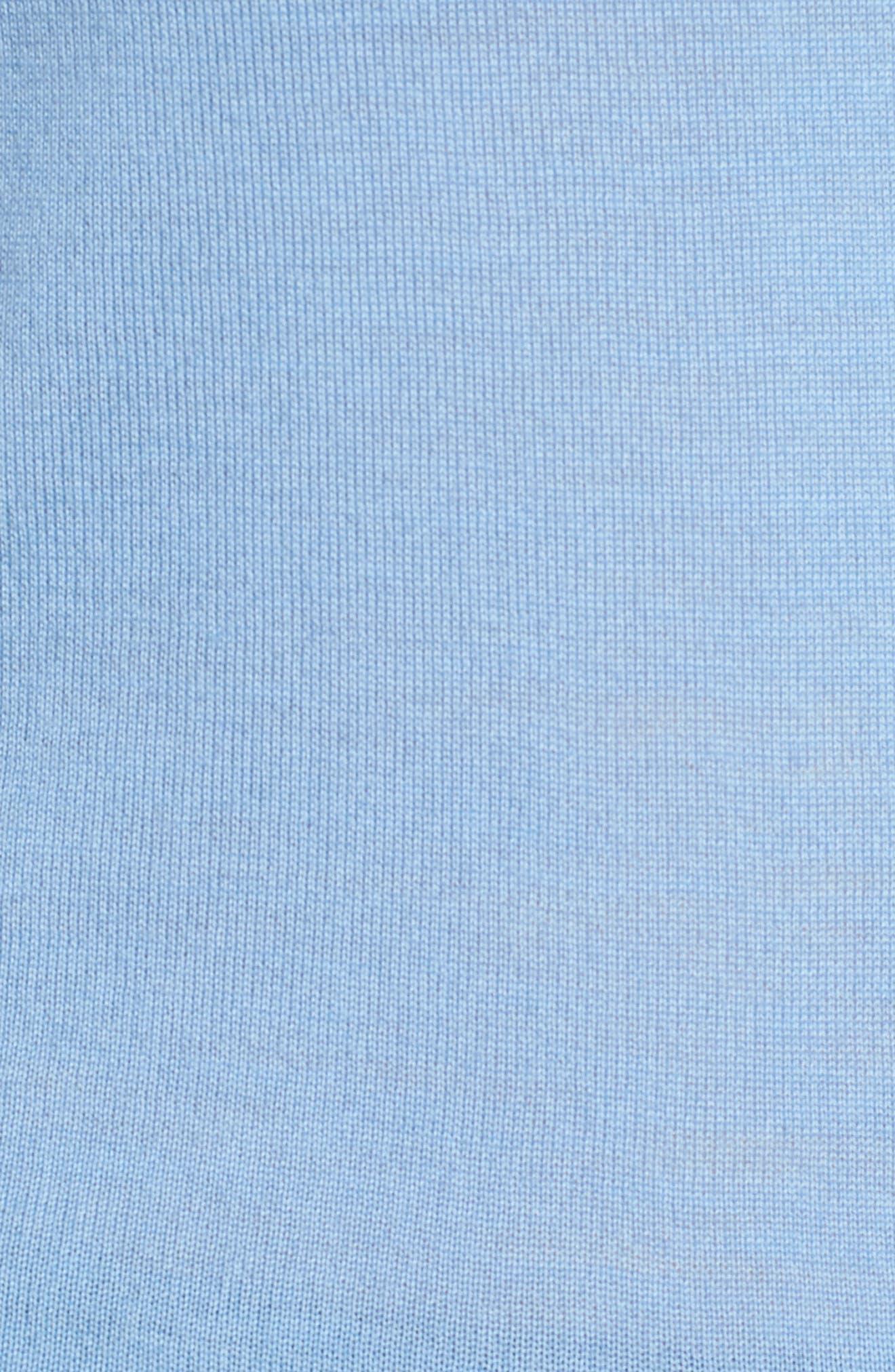 Fuyuka Wool Sweater,                             Alternate thumbnail 5, color,                             Blue Sky