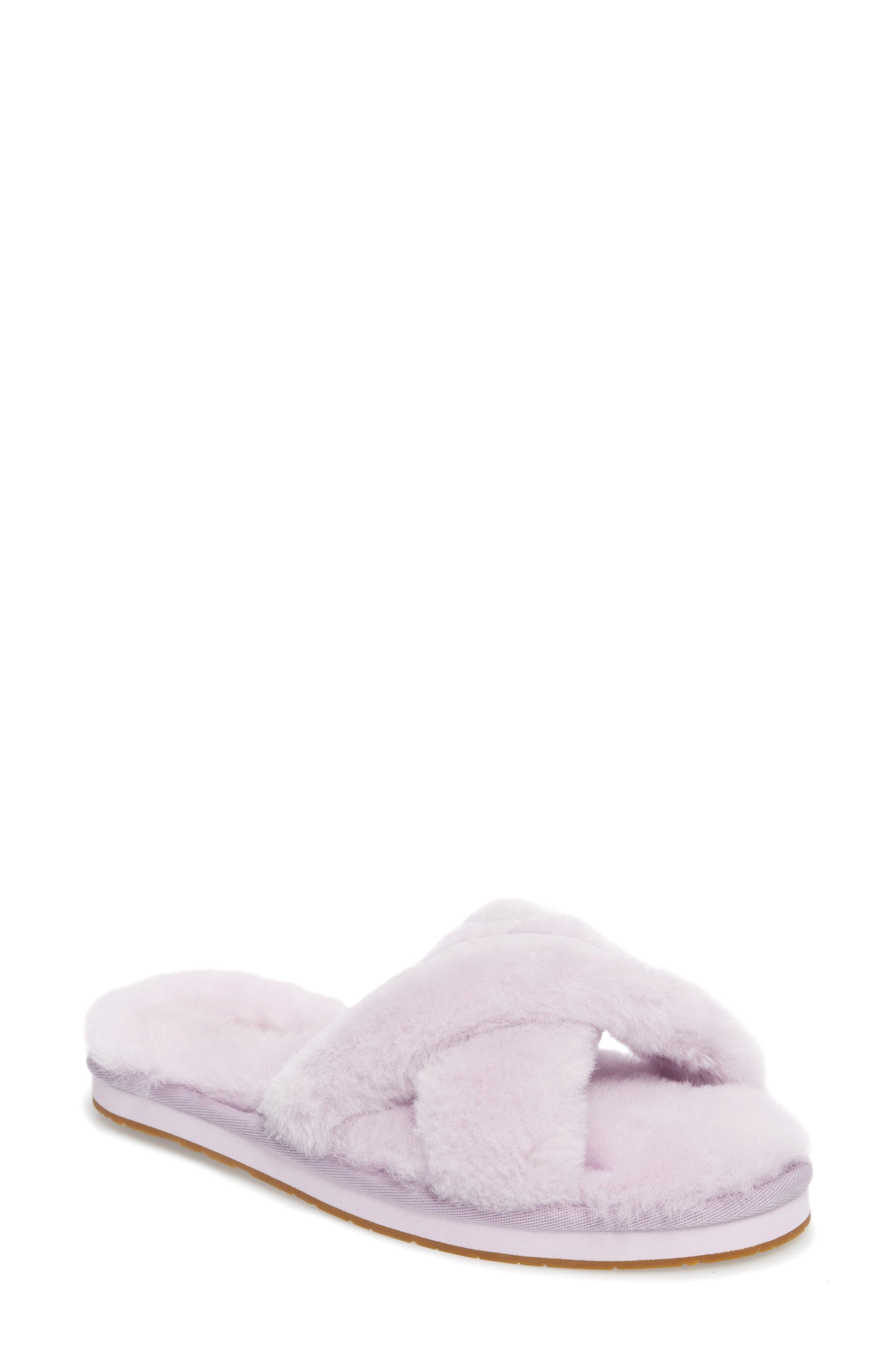 UGG® Abela Genuine Shearling Flip Flop (Women)