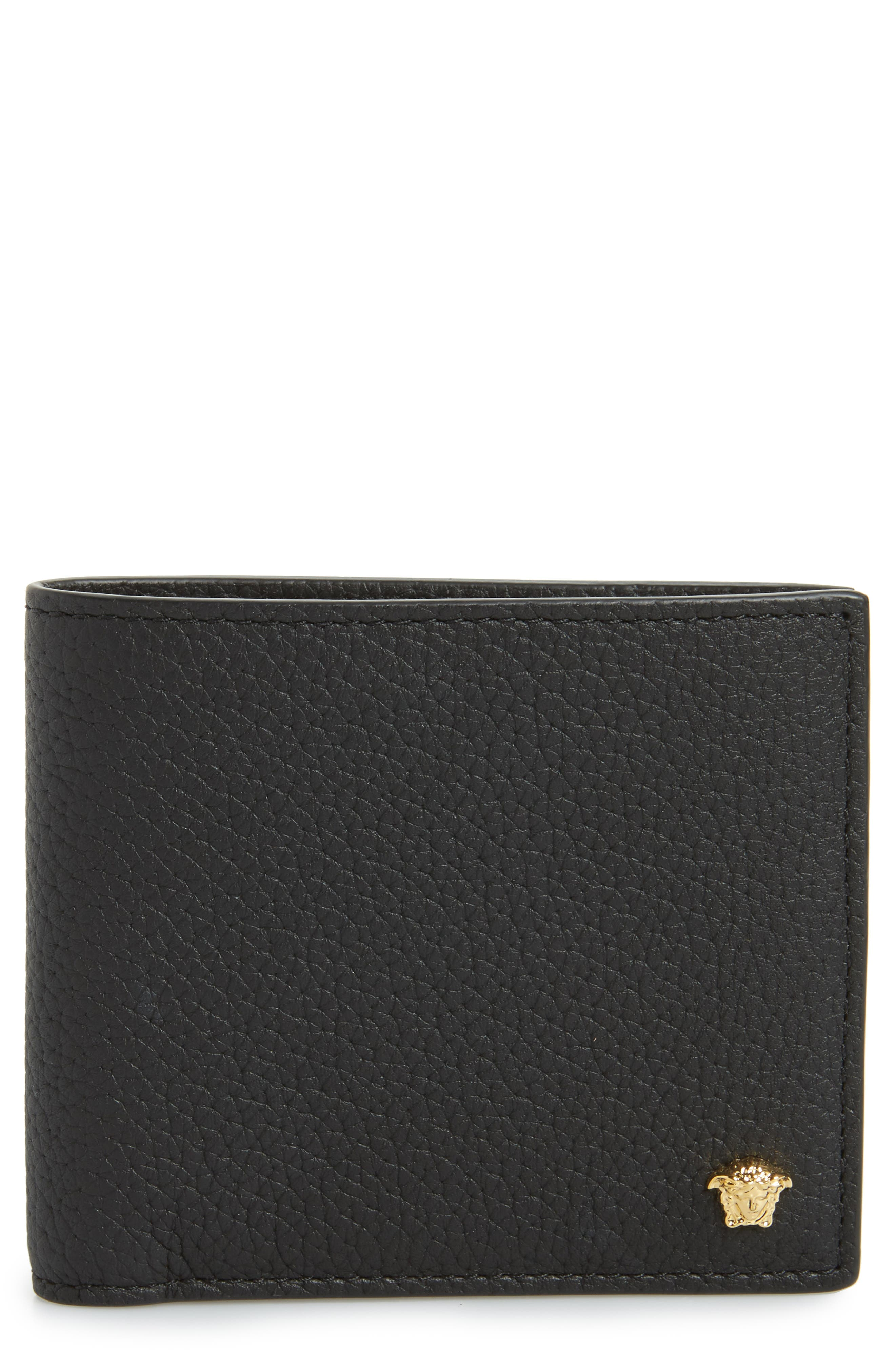 Main Image - Versace First Line Leather Wallet