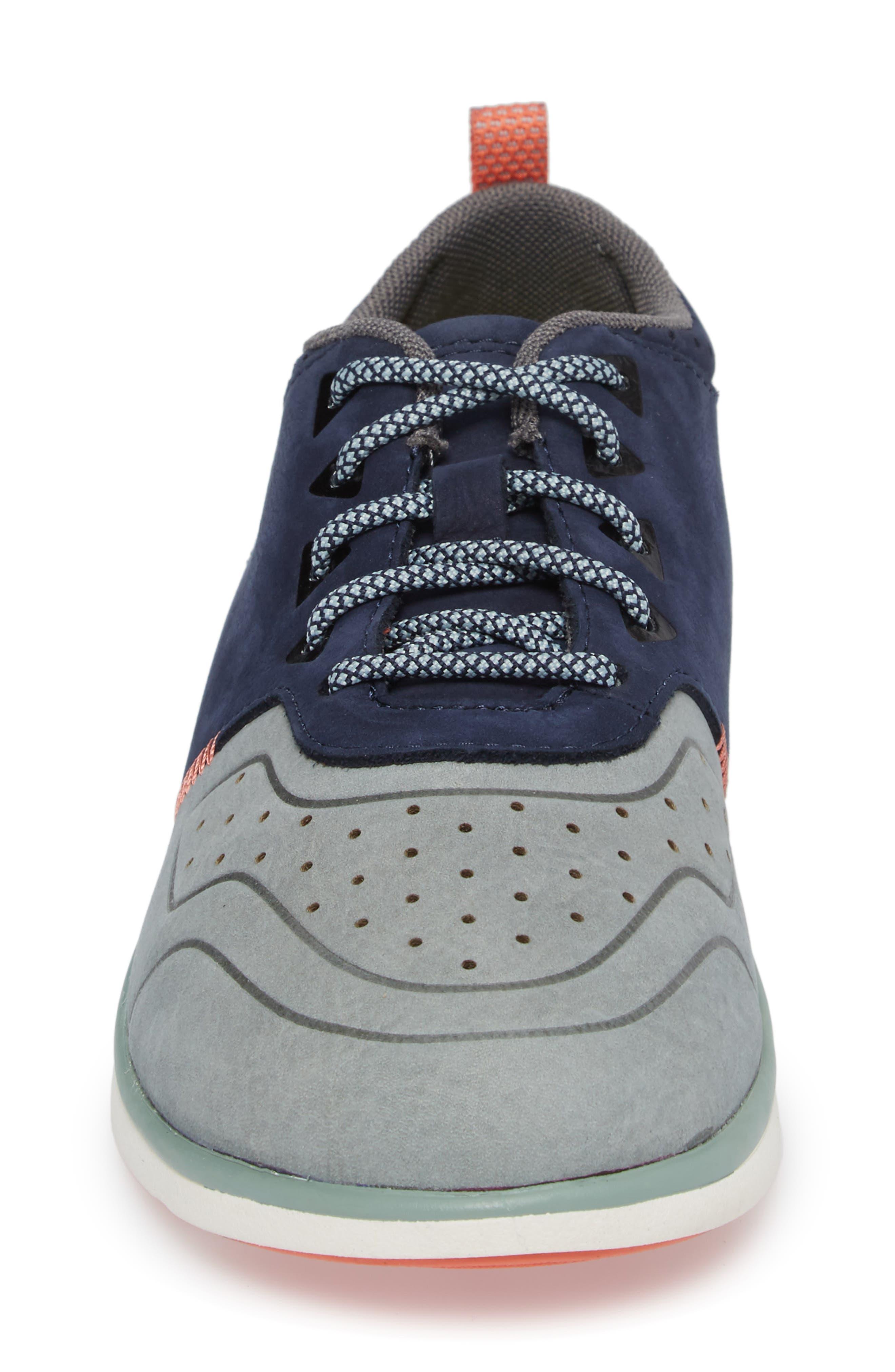 Beech Sneaker,                             Alternate thumbnail 4, color,                             Blue Leather