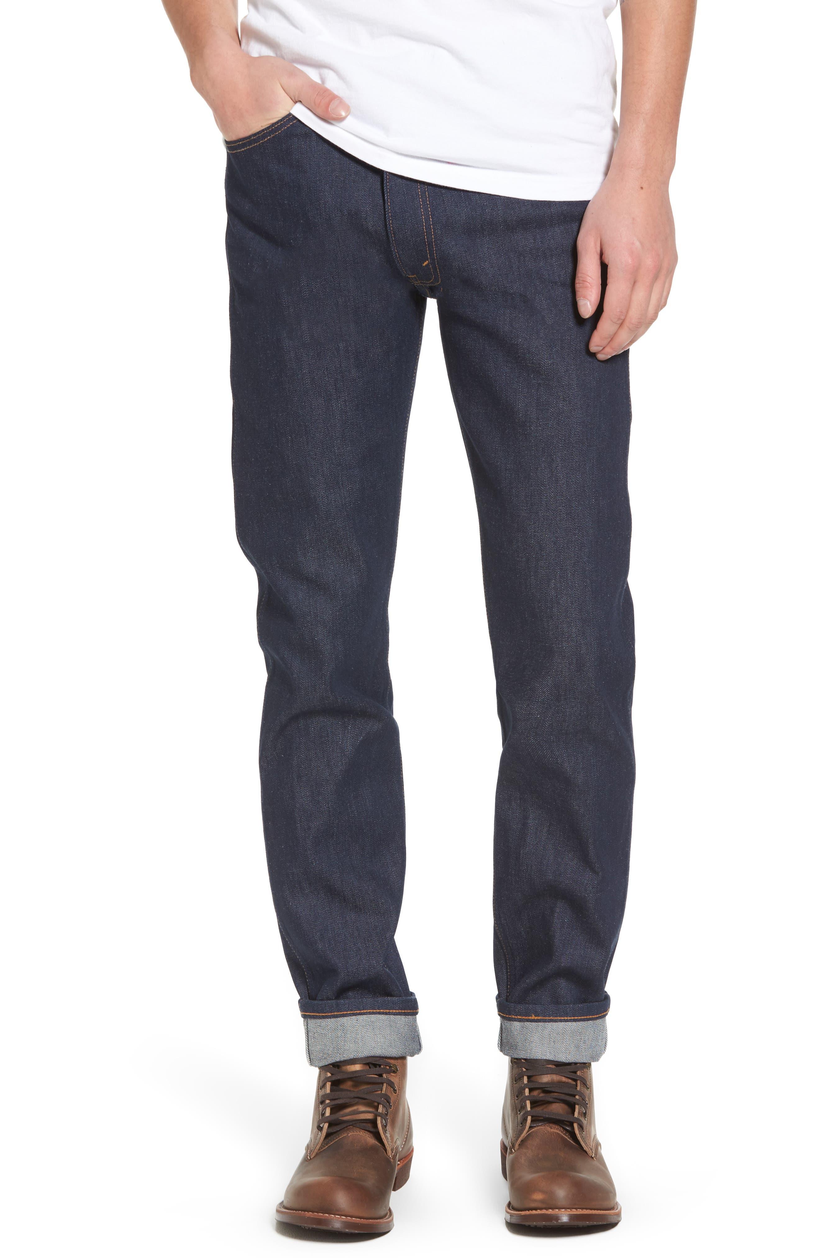 1969 606<sup>™</sup> Slim Fit Jeans,                         Main,                         color, Rigid M8017