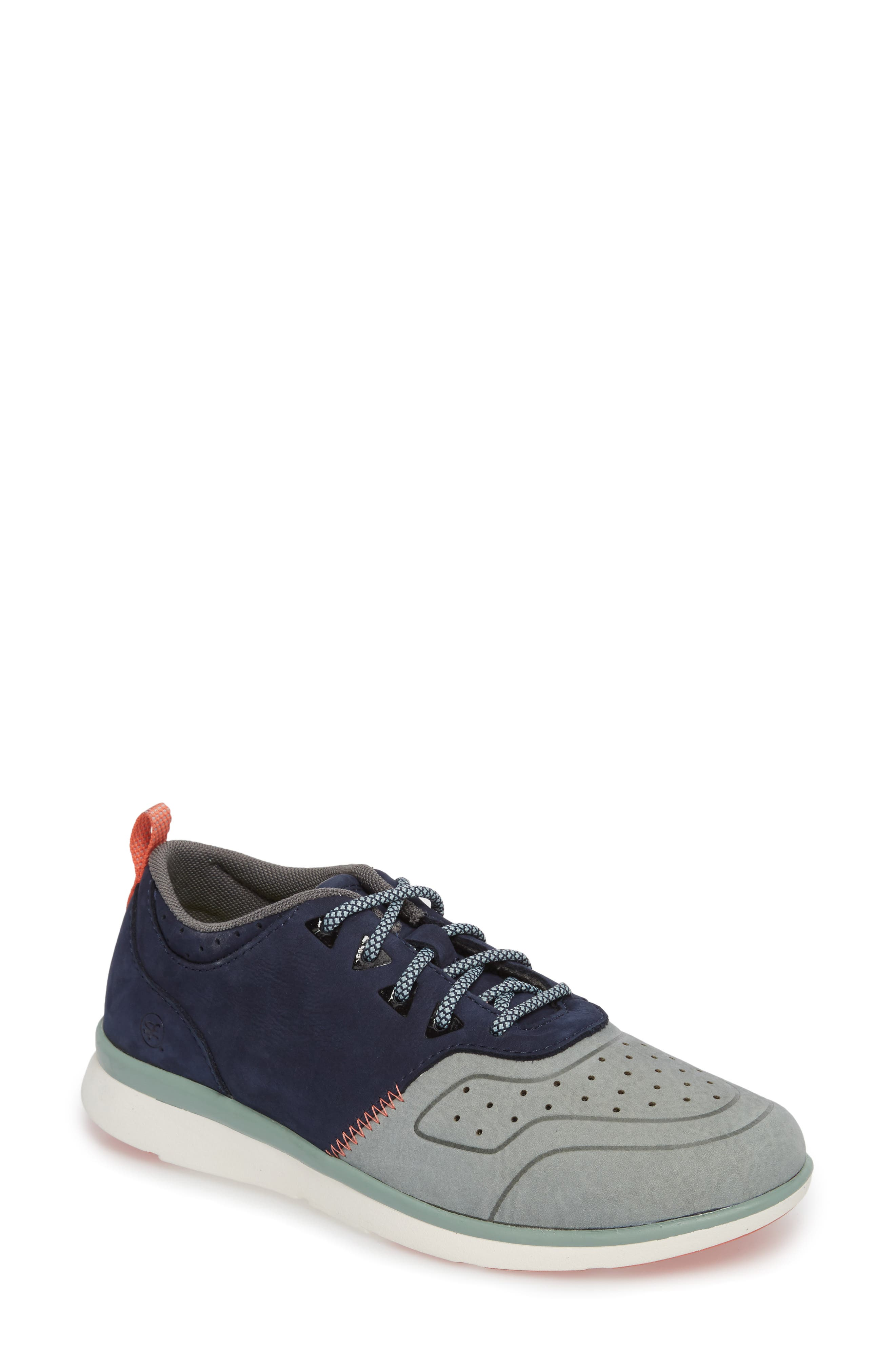 Beech Sneaker,                         Main,                         color, Blue Leather