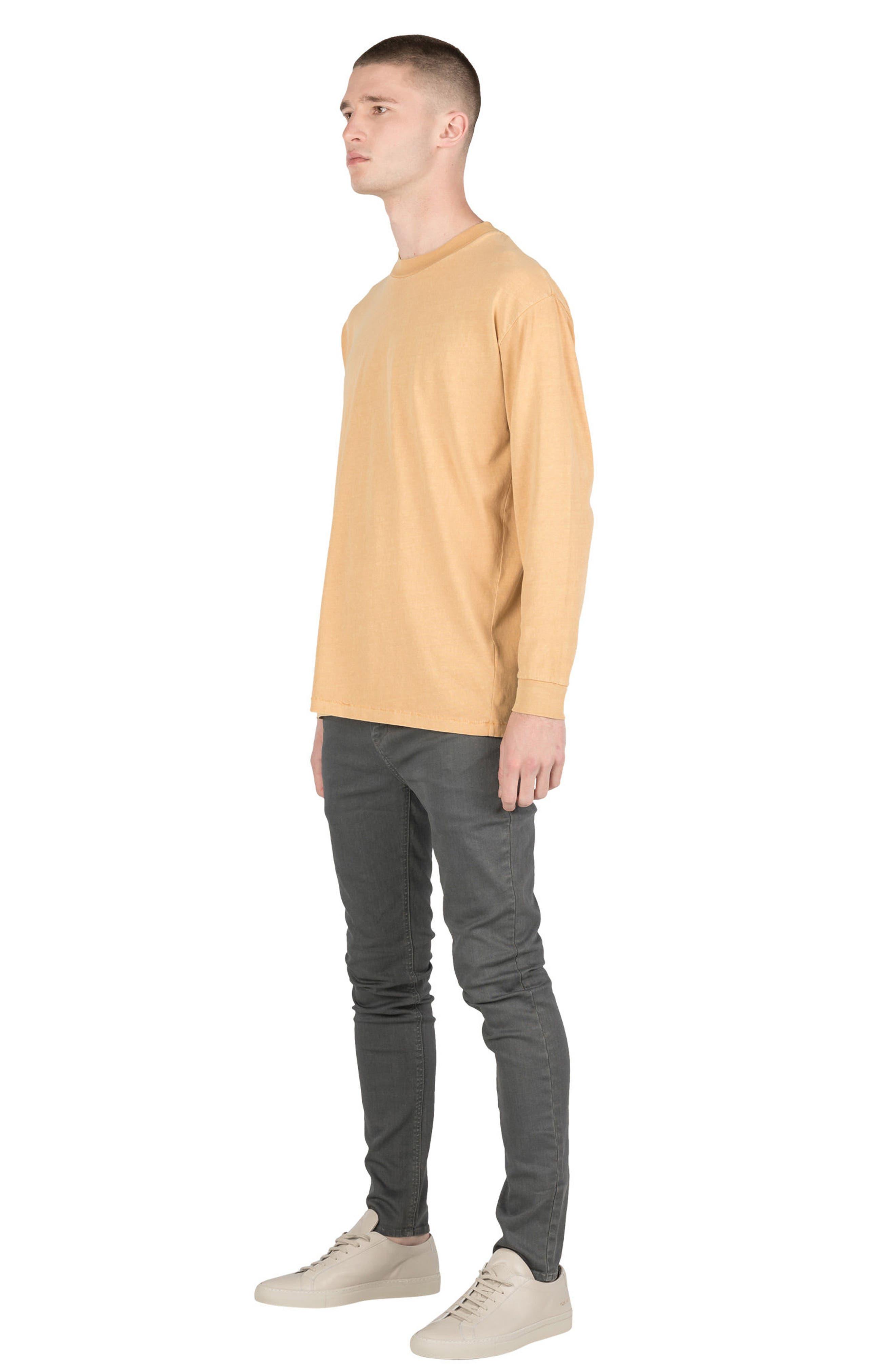 Box T-Shirt,                             Alternate thumbnail 4, color,                             Saffron
