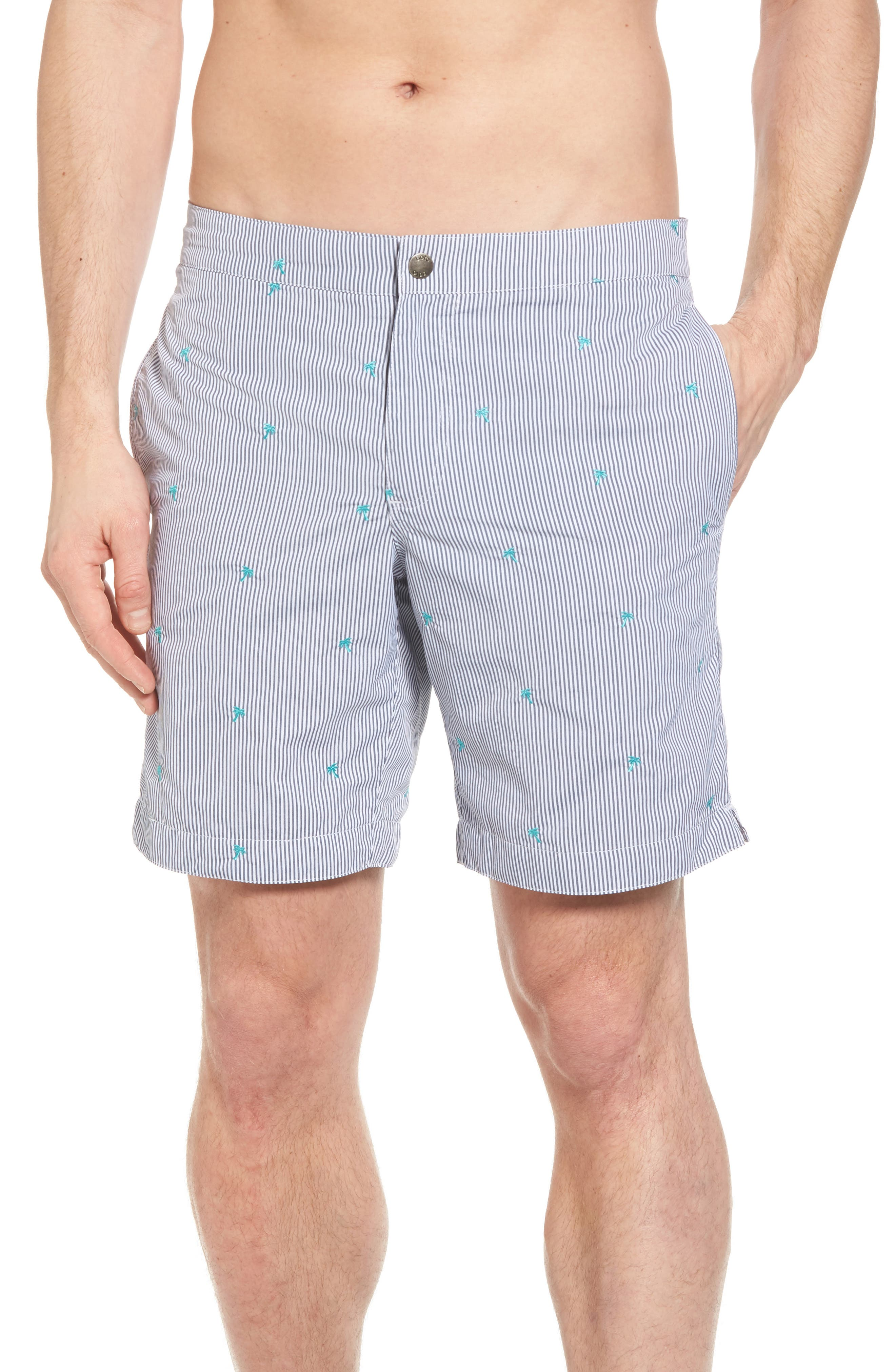 boto Aruba Palm Swim Trunks