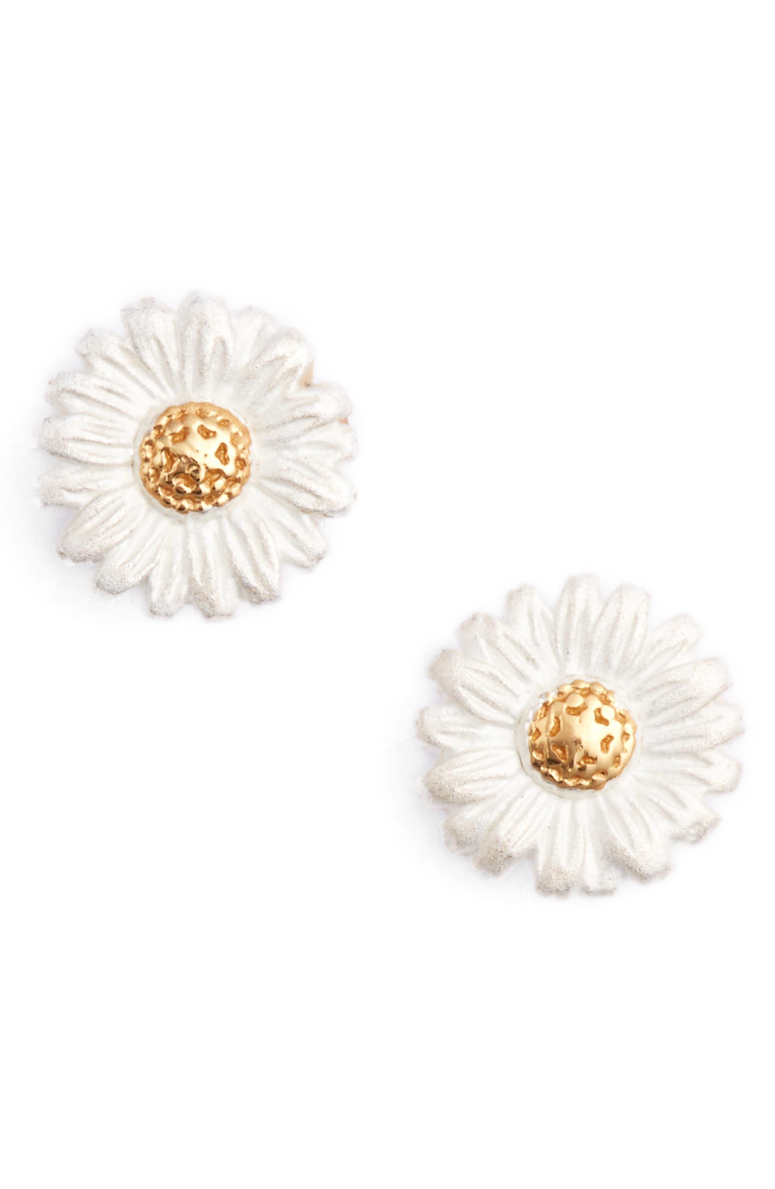 Alternate Image 1 Selected - Olivia Burton Daisy Stud Earrings