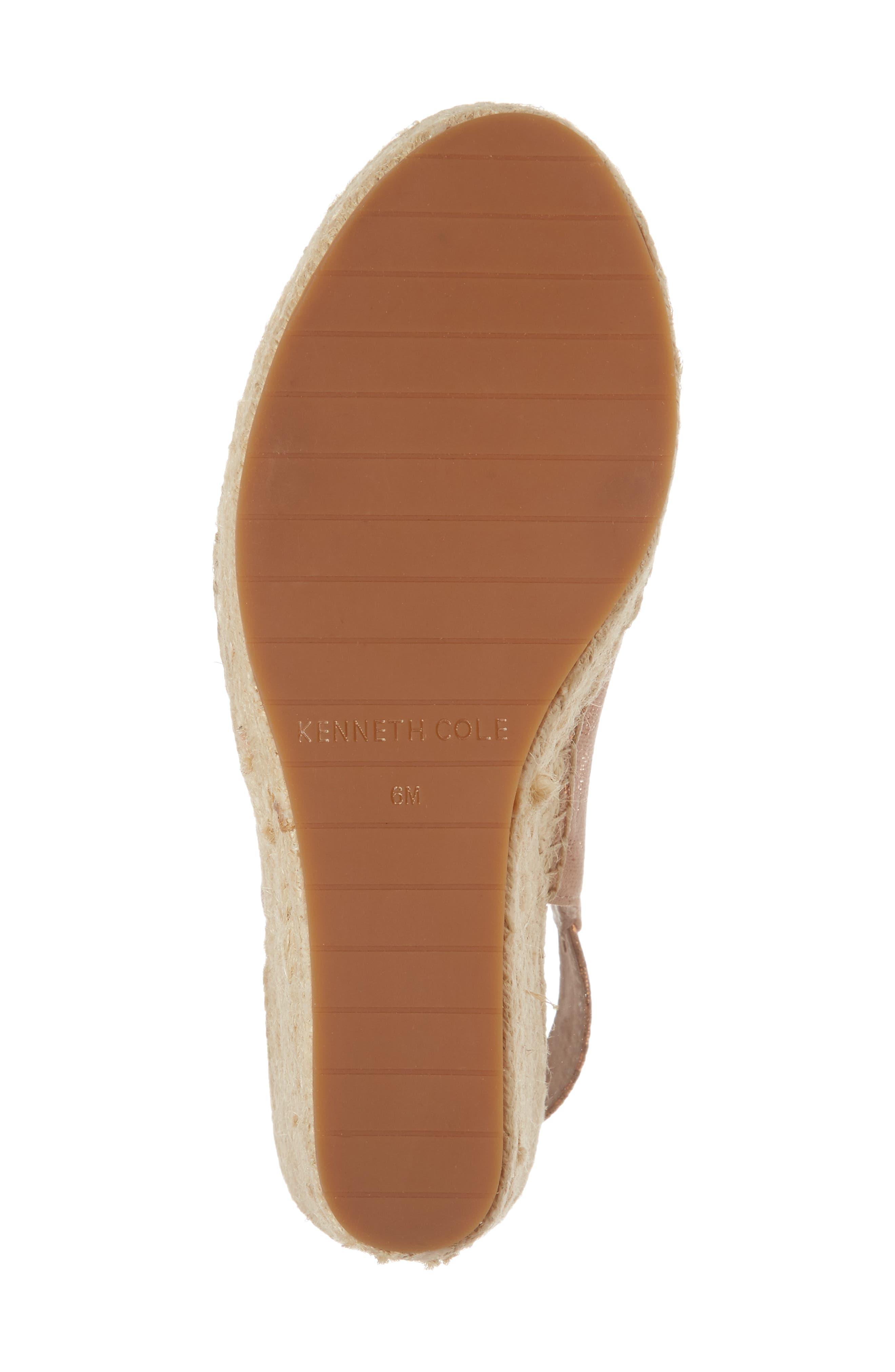 Alternate Image 6  - Kenneth Cole New York 'Olivia' Wedge Sandal (Women)