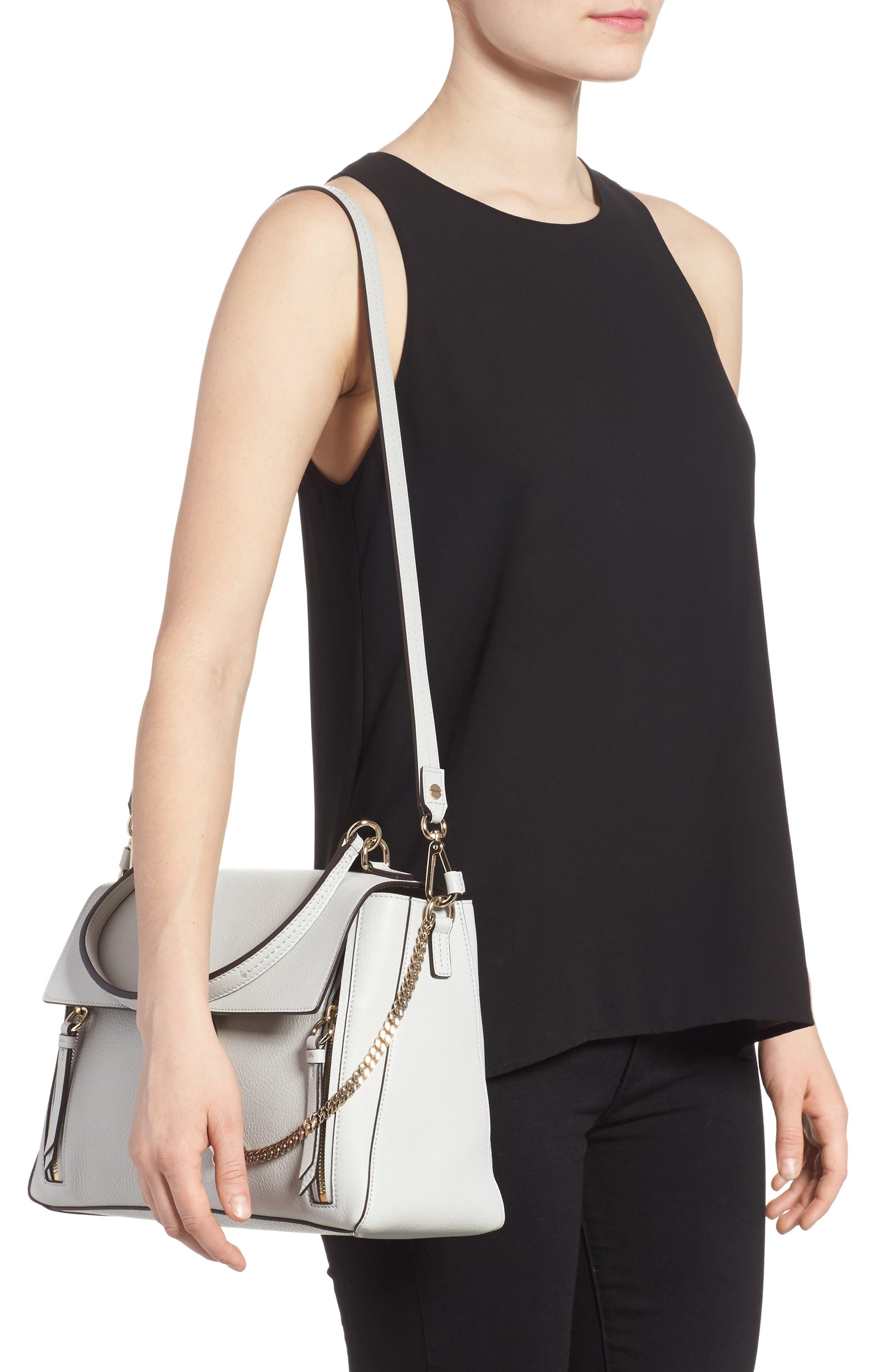 Alternate Image 2  - Chloé Medium Faye Leather Shoulder Bag