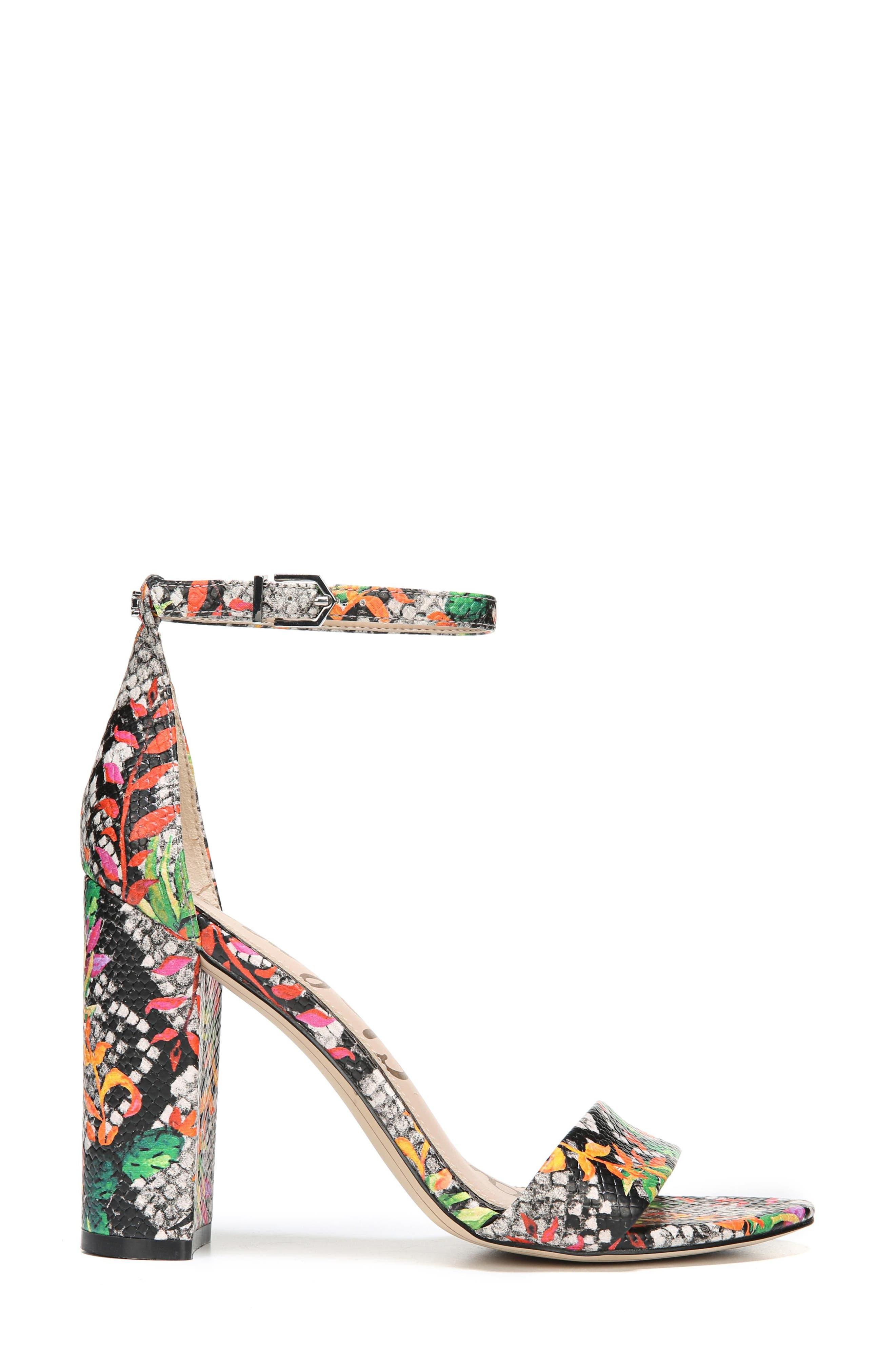 Yaro Ankle Strap Sandal,                             Alternate thumbnail 5, color,                             Bright Multi Print