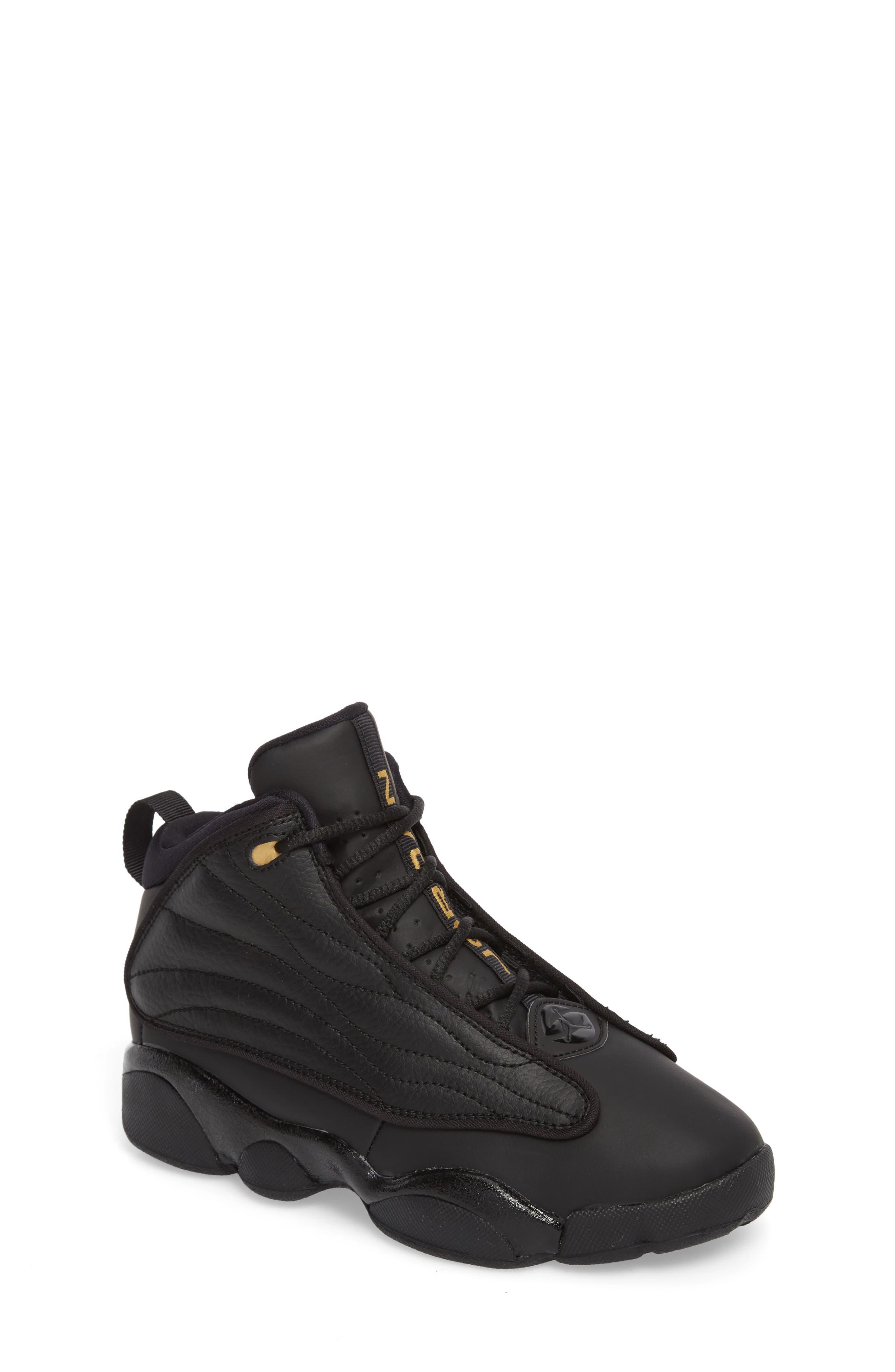 Pro Strong BP High Top Sneaker,                         Main,                         color, Black/ Black